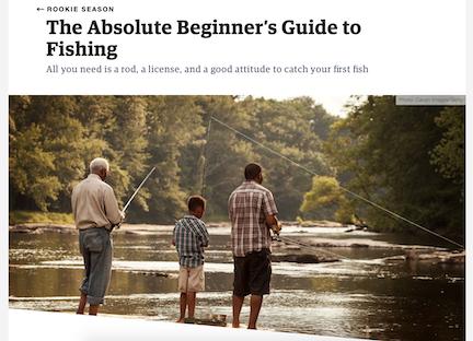 Beginner's Guide to Fishing  Outside Online  April, 2019