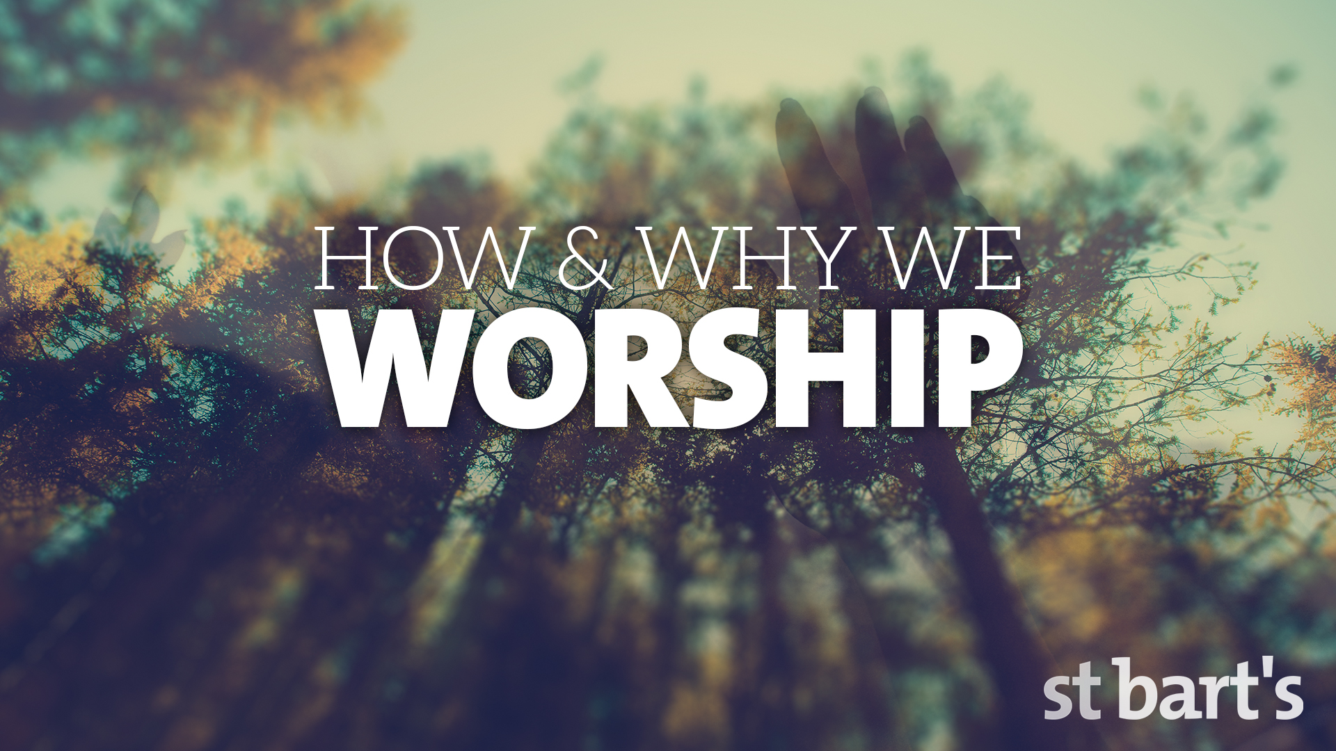How and Why We Worship