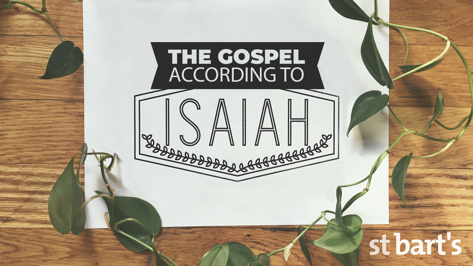 The Gospel According to Isaiah