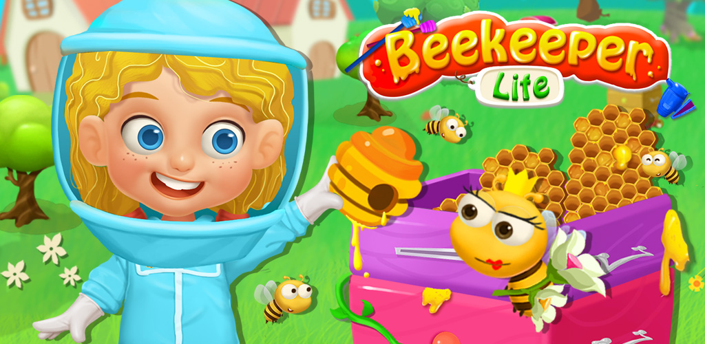 BEEKEEPER KIDS HONEY FARM TRIP  Beekeeper Lisa has a dangerous job: taking care of honey bees! She's very good at her work, but one tiny mistake and the bees could sting her good! Help Lisa take care of her honey bees and avoid a trip to the doctor by staying safe.