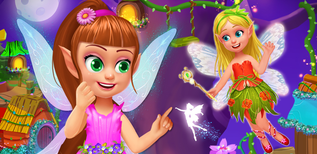FAIRY TOWN - MAGIC TREEHOUSE  Ever feel as though you are a little fairy stuck the human world? Fairy Town is here to give you hours of delight! Design the tree house and explore the town.