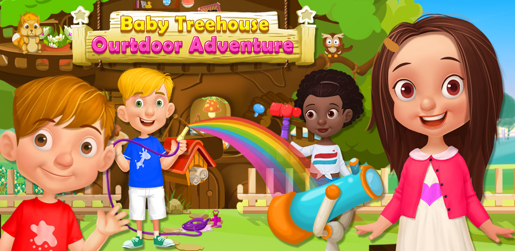 KIDS ADVENTURE MAGIC TREEHOUSE  Whether having fun in your home in the forest or finding cool stuff outside, there are tons of things for a big kindergartener to do! With 6 levels to play through, you'll have unforgettable outdoor adventures!