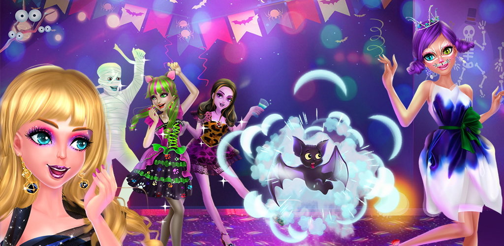 MONSTER PRINCESS MAKEUP PARTY  As a close friend to the pretty monster princess, you've been invited to the Monster Party tonight! And the monster princess needs your help to make her into the most beautiful princess ever!