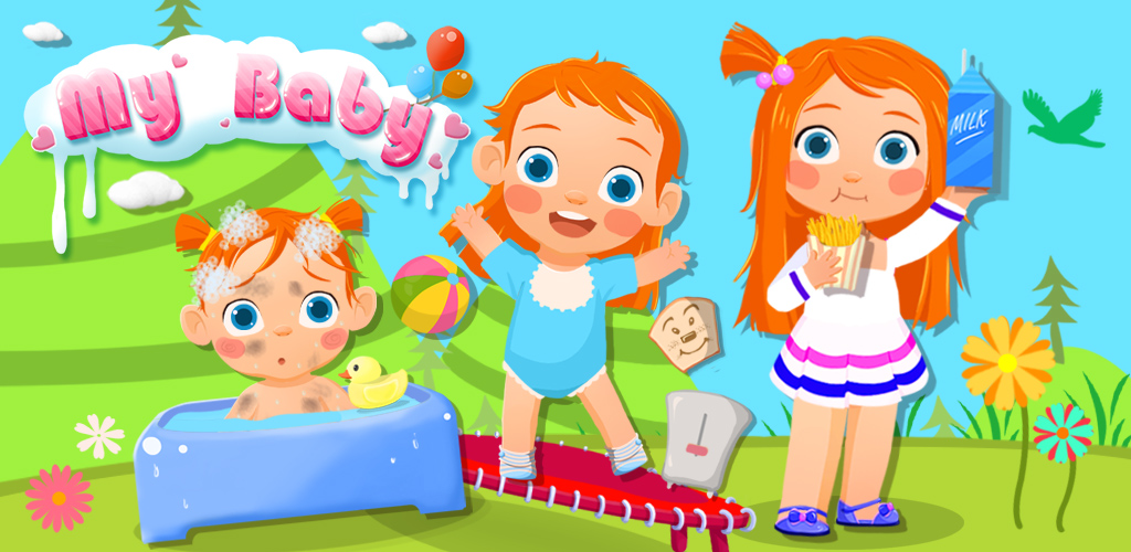 MY BABY™ EARLY CHILDHOOD STORY  Come meet your lovely new baby! Name her & Watch your child GROW UP as you play, feed & care for her! With My Baby™ you can experience the magic of being a proud parent! See your baby child develop into a beautiful girl.