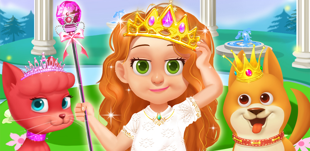 MY BABY PRINCESS™ ROYAL CARE  A young enchanted princess never plays alone. She has a lot of servants and subjects, even when full grown. How would you like to have a princess of your own?
