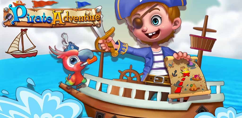 PIRATES TALE - TREASURE ISLAND  Curiosity has its perks. After years of digging for clues and sitting through the stories of pirates that visit your docks, you've finally made the discovery of your life!
