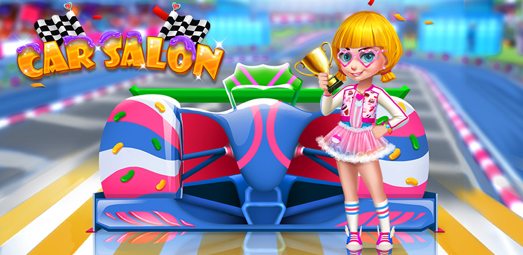 Candy Rush Racer: Car Salon!  Welcome to the car racing planet! Everyone that visit loves food and cars, so they have created a fun event that combines both of these things for a great race. Can you be the racing champion?
