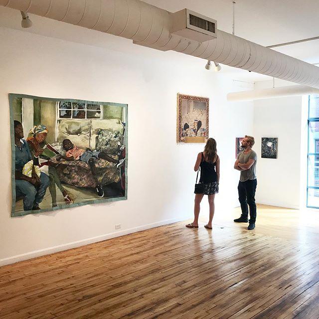 Excited to be apart of the NEW AMERICAN PAINTING 2019 Review  Steven Zevitas Gallery  450 Harrison Avenue #47 Boston, Massachusetts 02118 #summershow @stevenzevitasgallery @newamericanpaintings