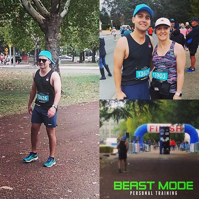A huge THANKYOU and congratulations to these 2 legends who ran the Canberra marathon and raised almost $500 to support our charity. Massive effort guys- we cant thank you enough @beastmode_pt - absolute champions 💪🏻 #handinhand #handinhandfightingbraincancer #beastmode #beastmodept #canberra #marathon #fucancer #braincancer #braincancerawareness