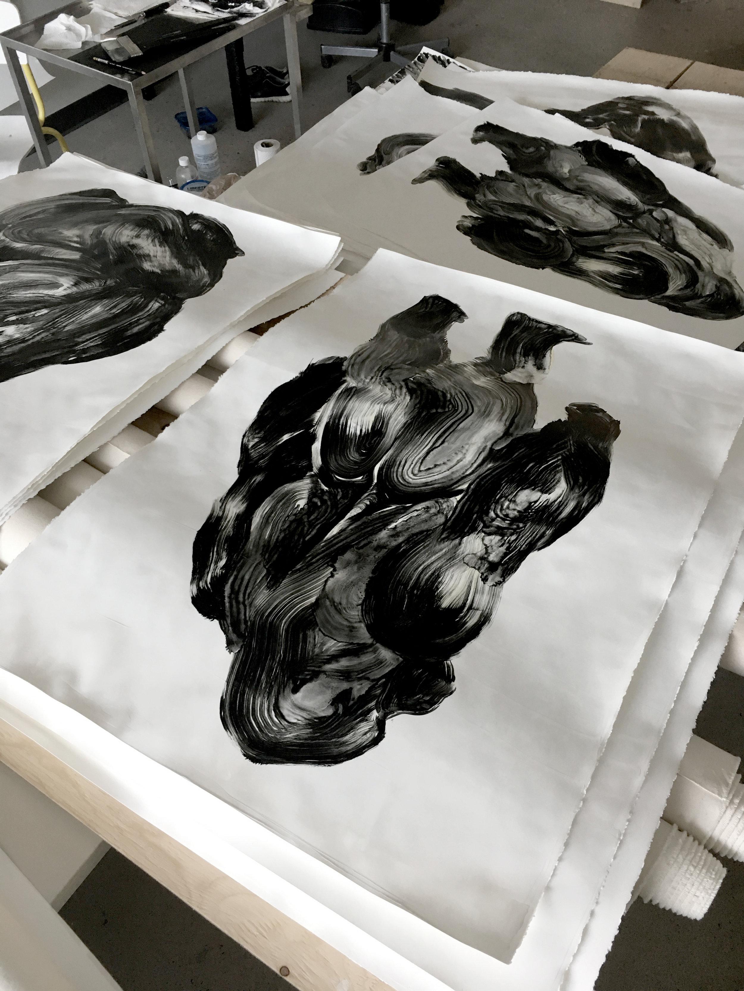 Série des gorilles  Atelier sur De Gaspé