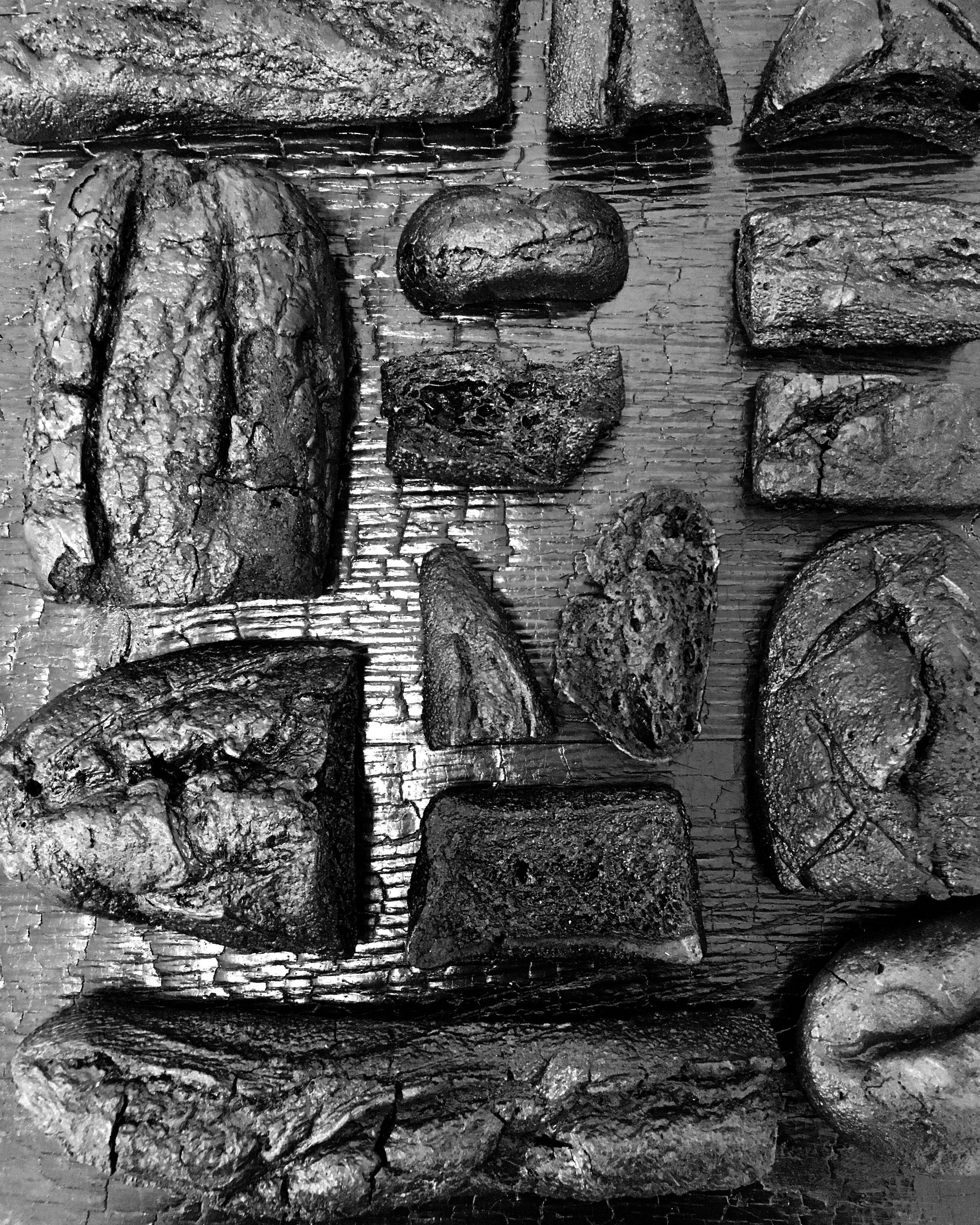 Série pains brulés