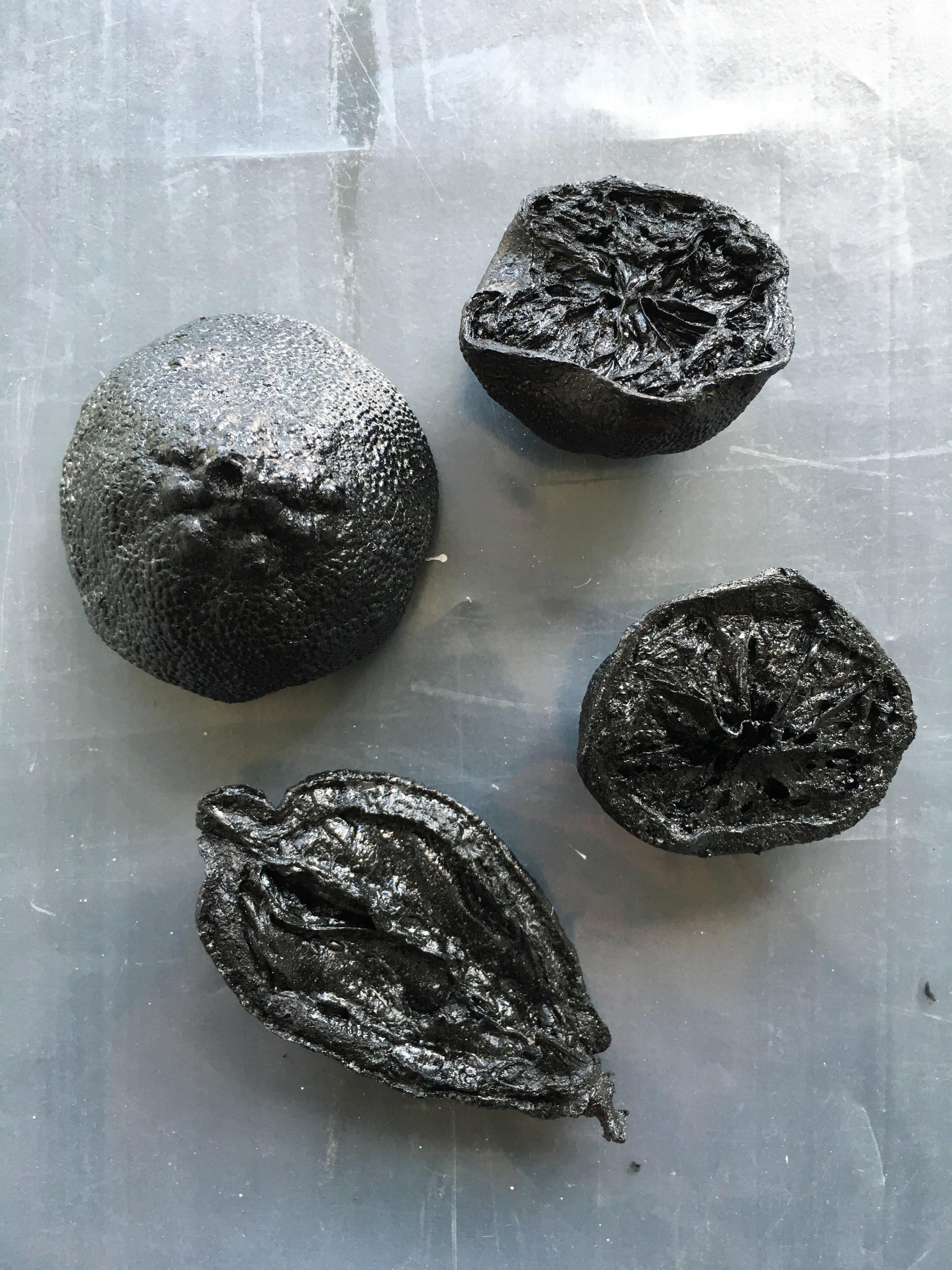 Série des citrons brulés