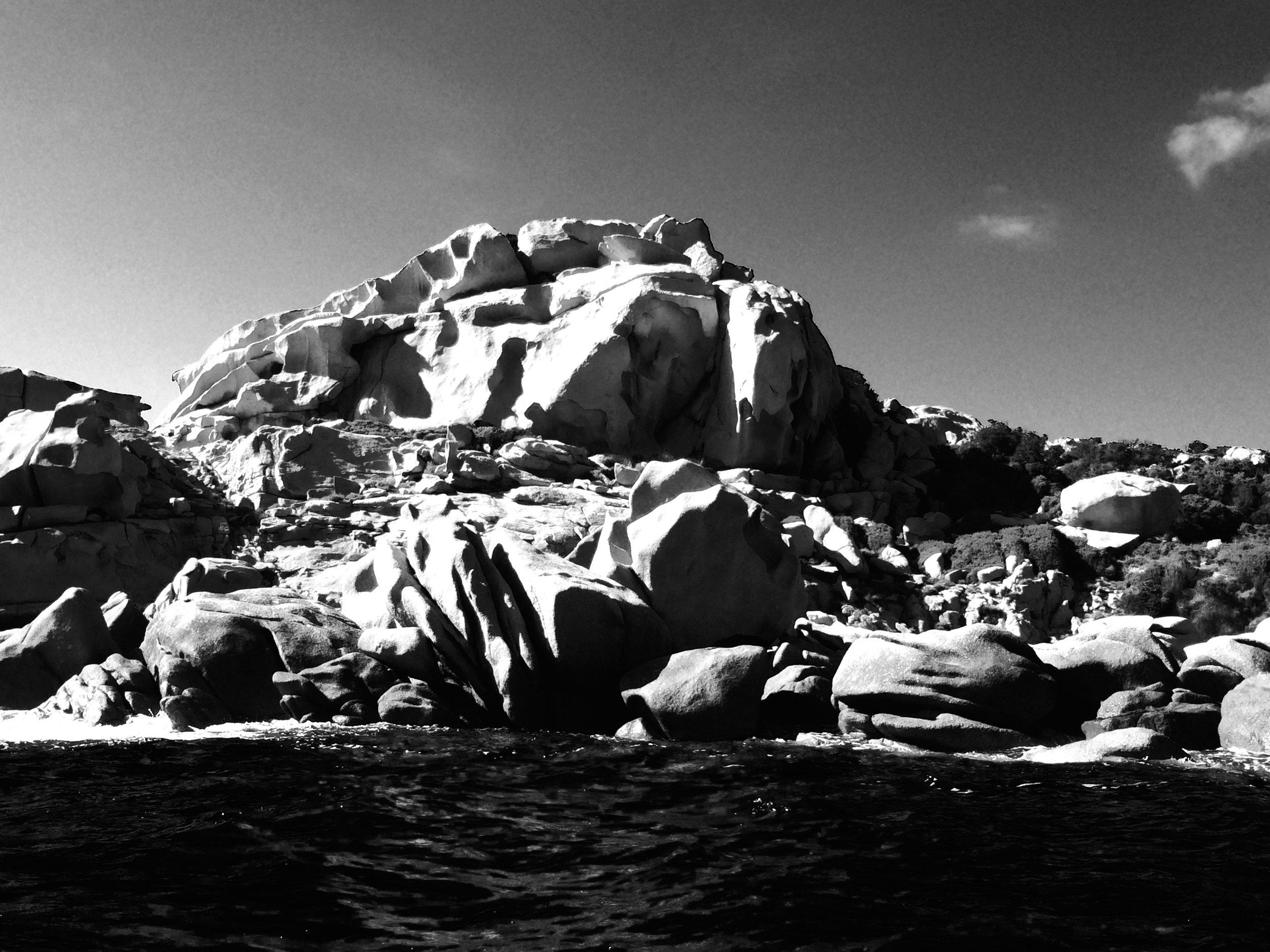 Rochers, Corse