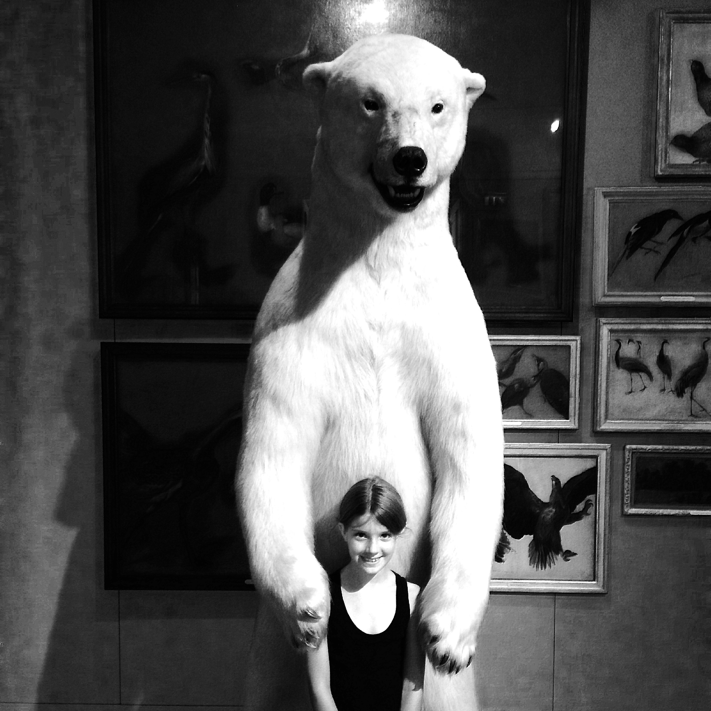 India et l'ours polaire  Musée de la Chasse  Paris, France
