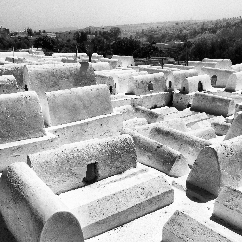 Tombes juive  Fez, Maroc