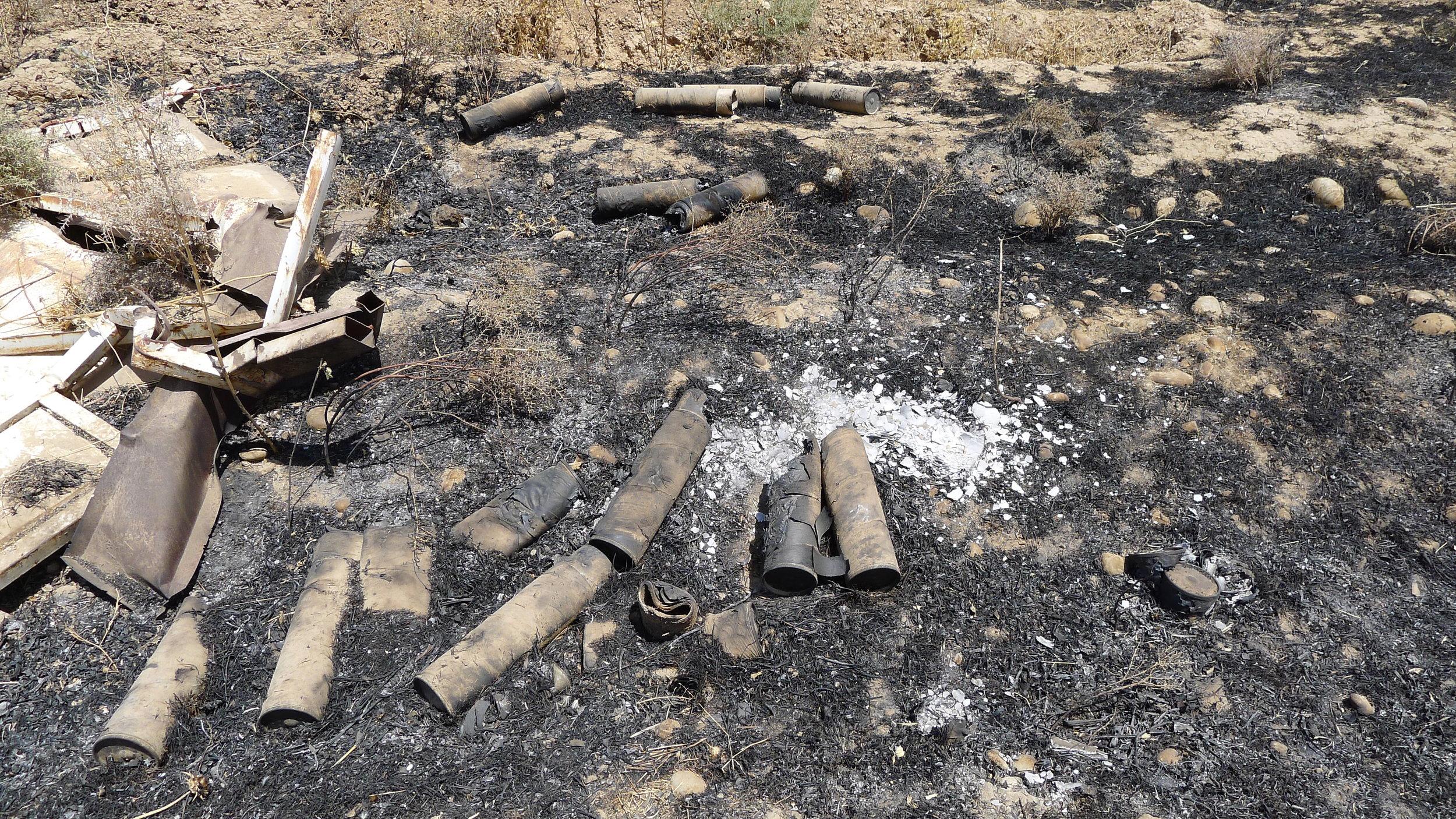 Sur les lignes de Isis  Kirkuk, Iraq