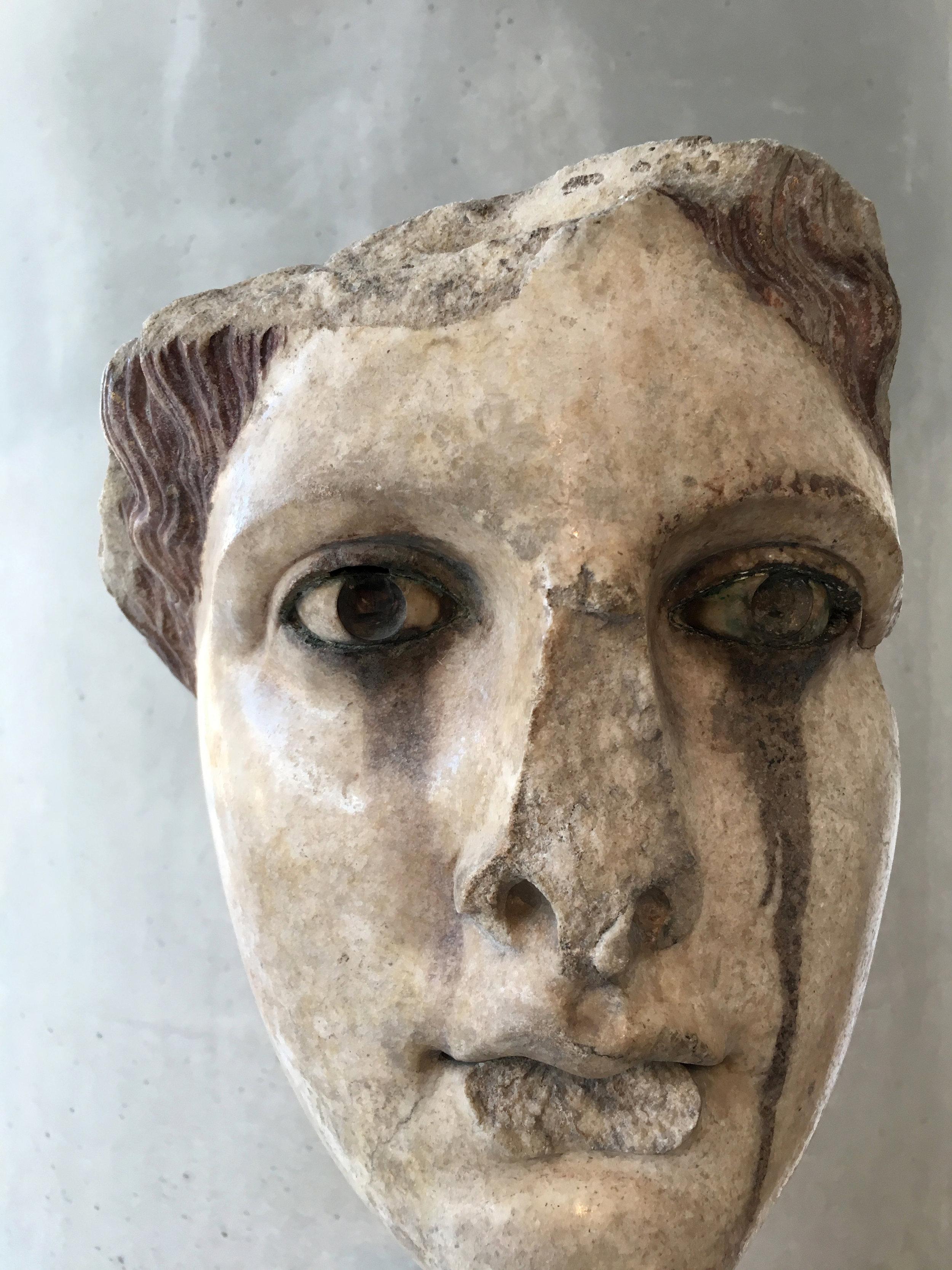 Sculpture, Musée de l'Acropole  Athènes, Grèce