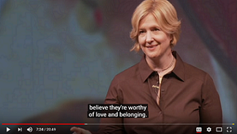 The Power of Vulnerability - One of the top viewed TED talks of all time. Brene Brown talks about a topic most of us are uncomfortable with and how bringing more vulnerability to our life is how we experience life's greatest joys.