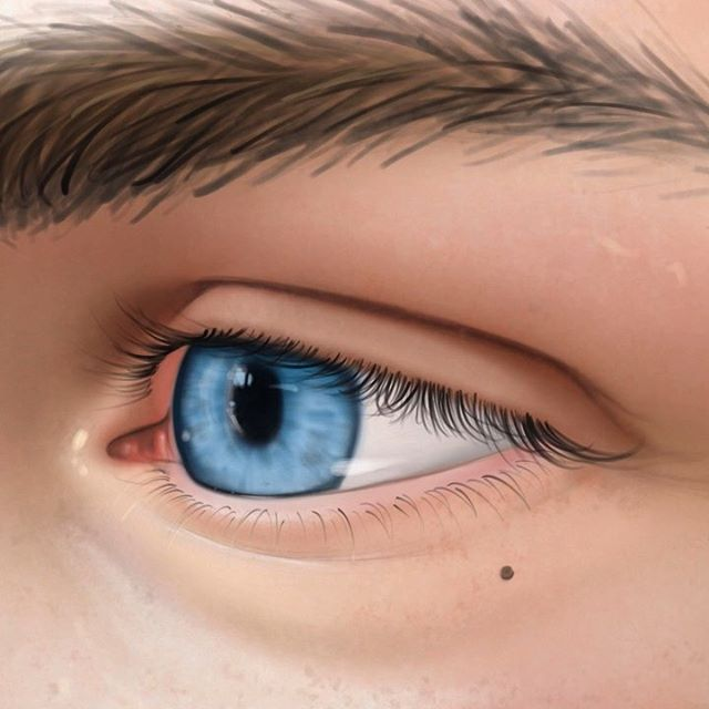 some quick practice drawing eyes 😋👁 happy Monday!  #referencestudy #art #timelapse #blueeyes #eyes #closeup #digitalart #referencedrawing #procreate #procreateart #practiceart #howtodraw #eye