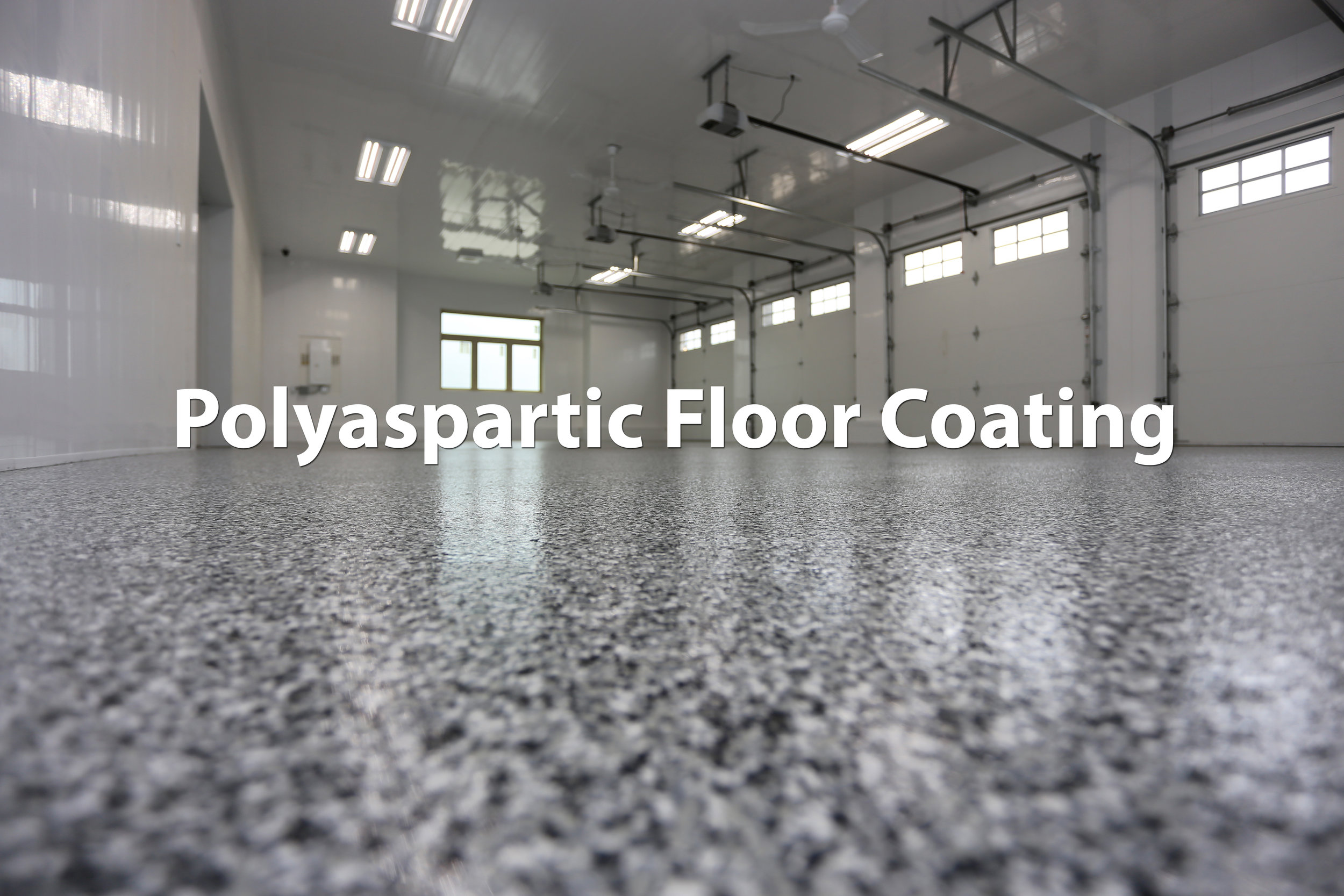 Polyaspartic Garage Floor Coating in Edmonton not Epoxy