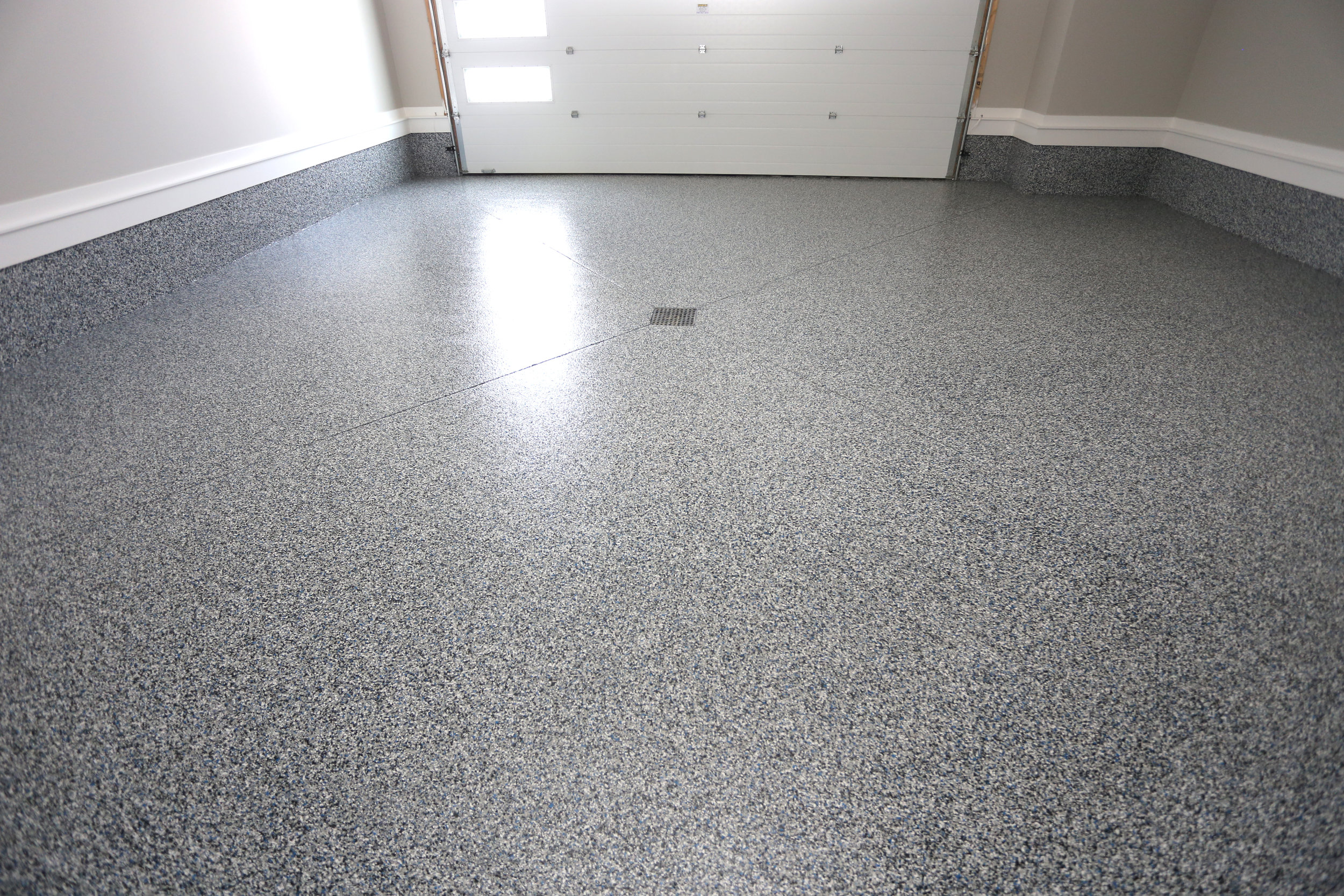 Polyaspartic Garage Floor Coating - Complete