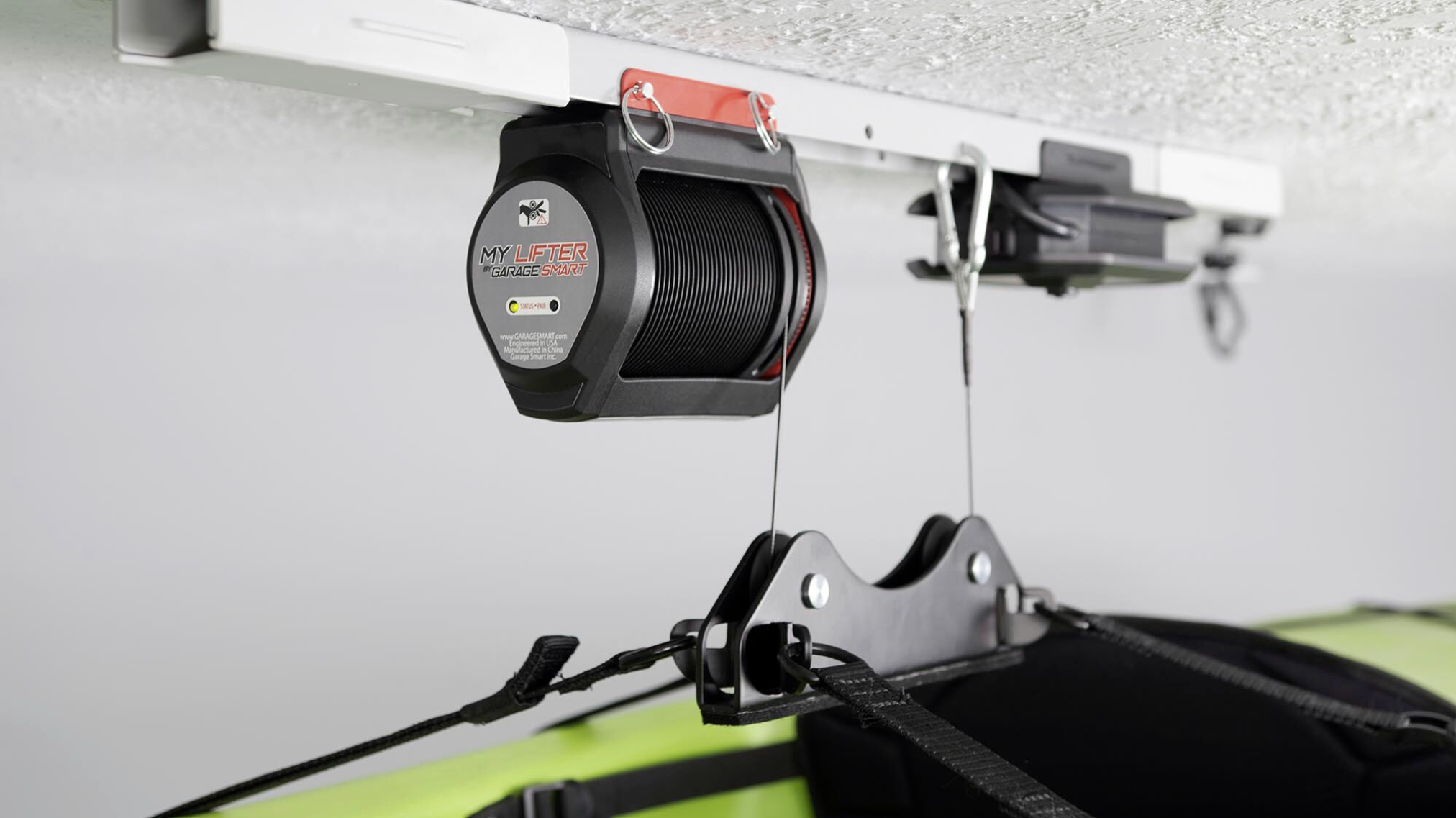 Motorized Garage Storage — Garage Boss