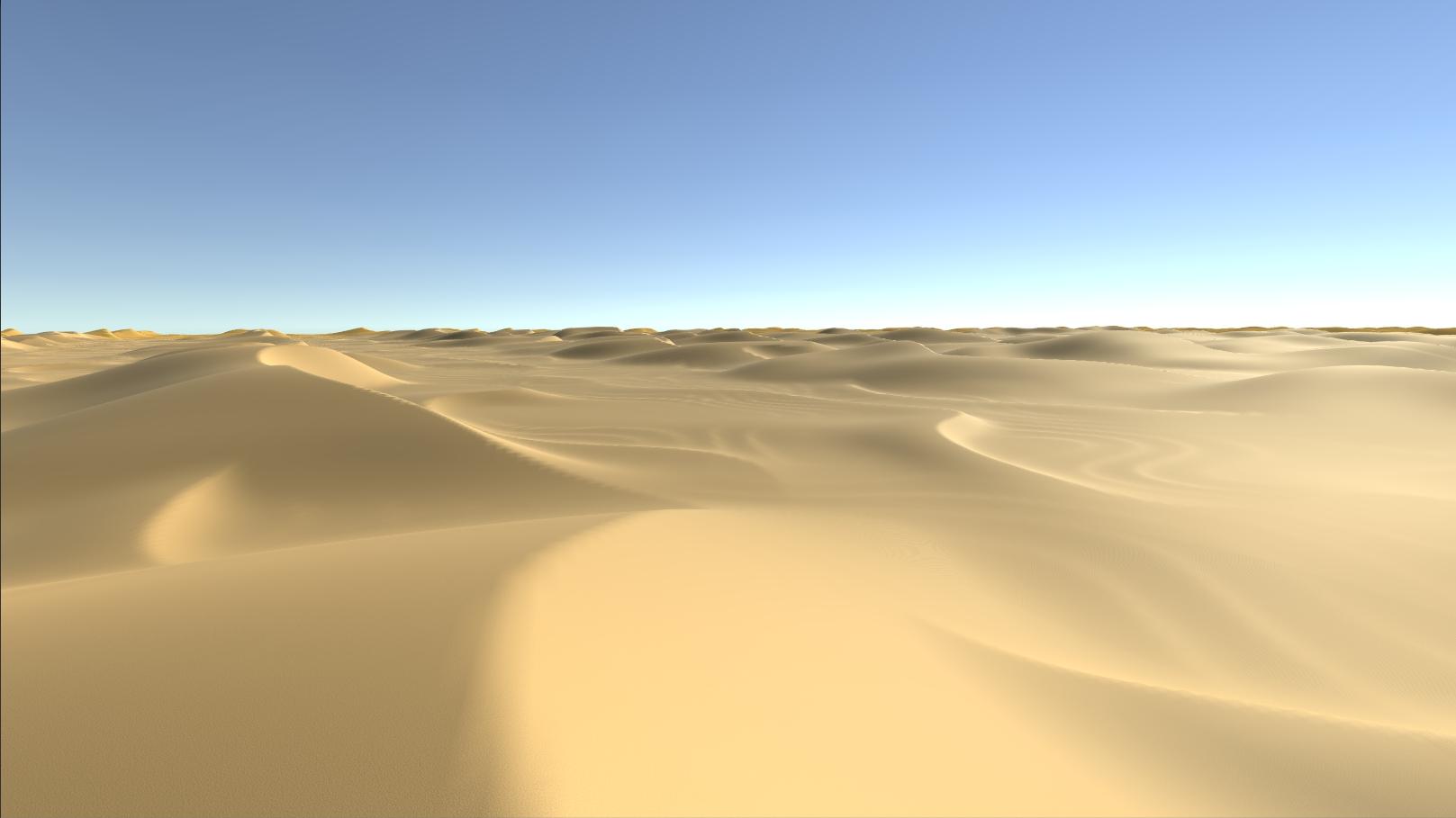 Infinite deserts -