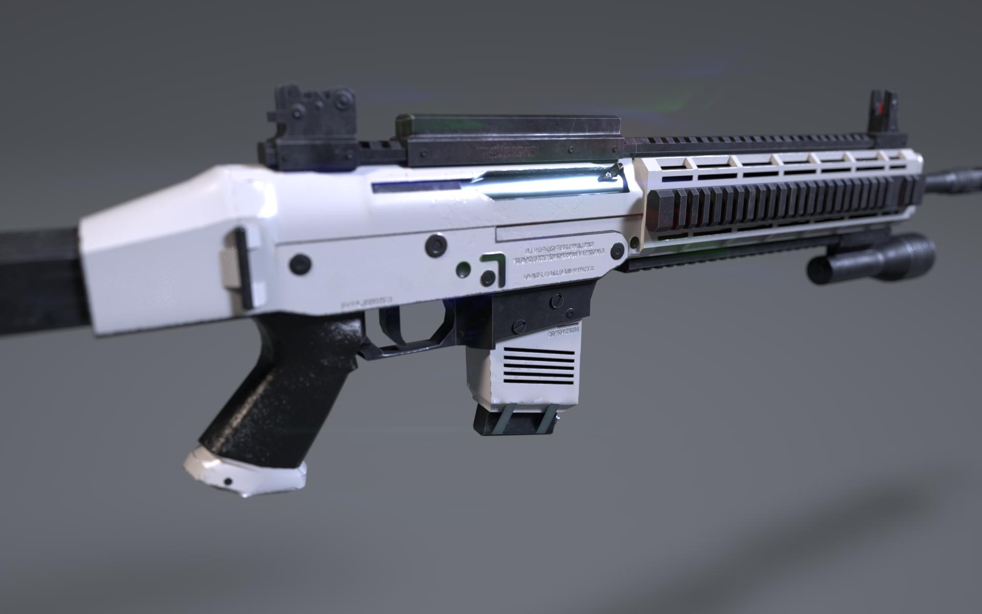 I made rifle - BLOG