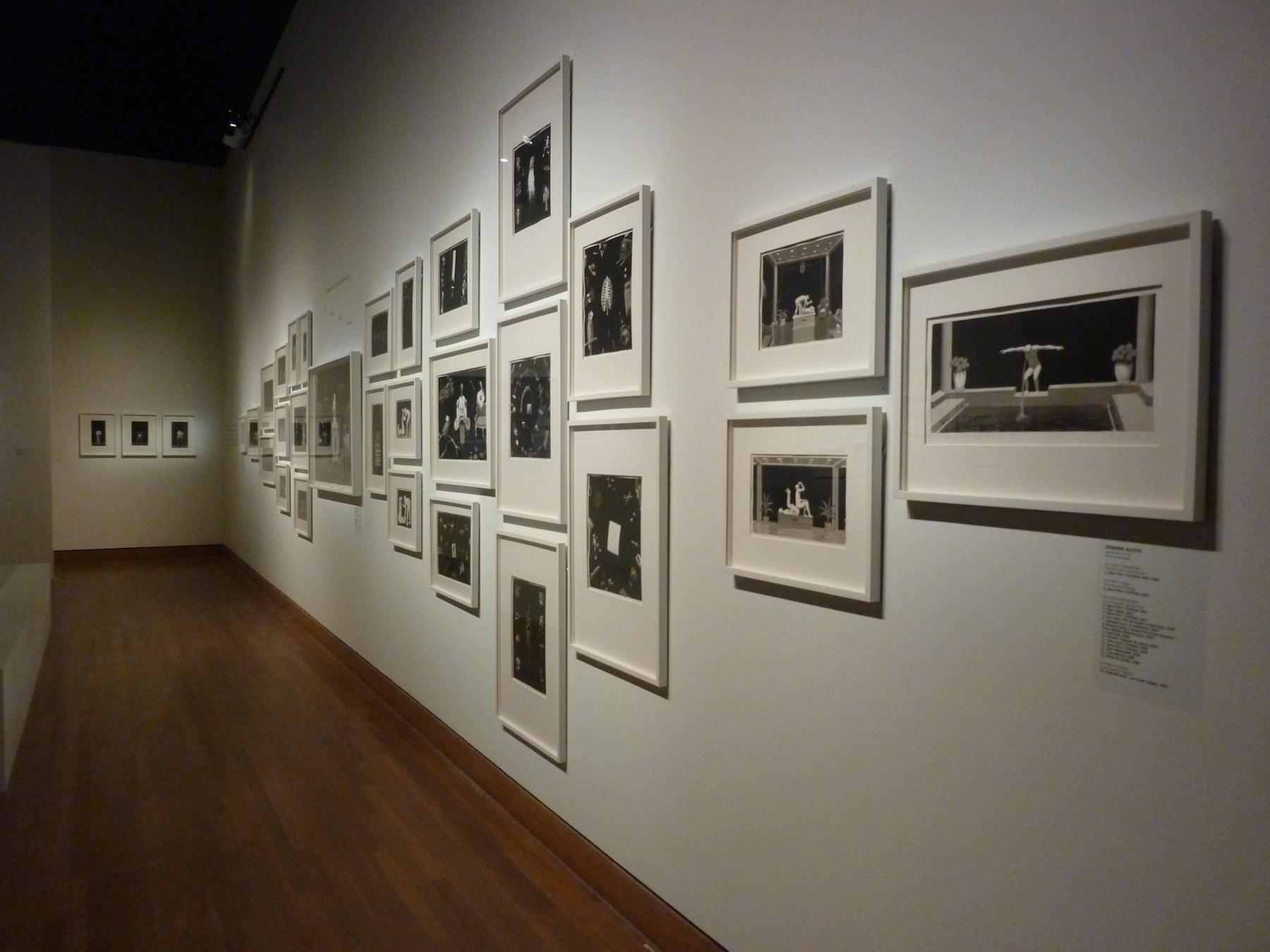 Installation de Jennifer Alleyn dans l'exposition Big Bang au Musée des Beaux arts de Montréal.