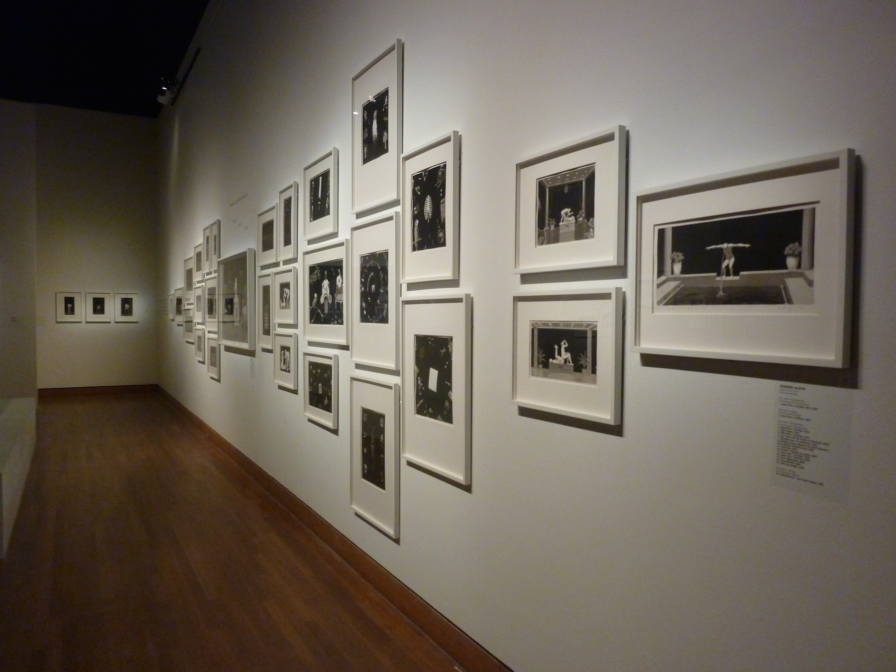 Installation by Jennifer Alleyn - Big Bang Exhibition - Montreal Museum of Fine Arts