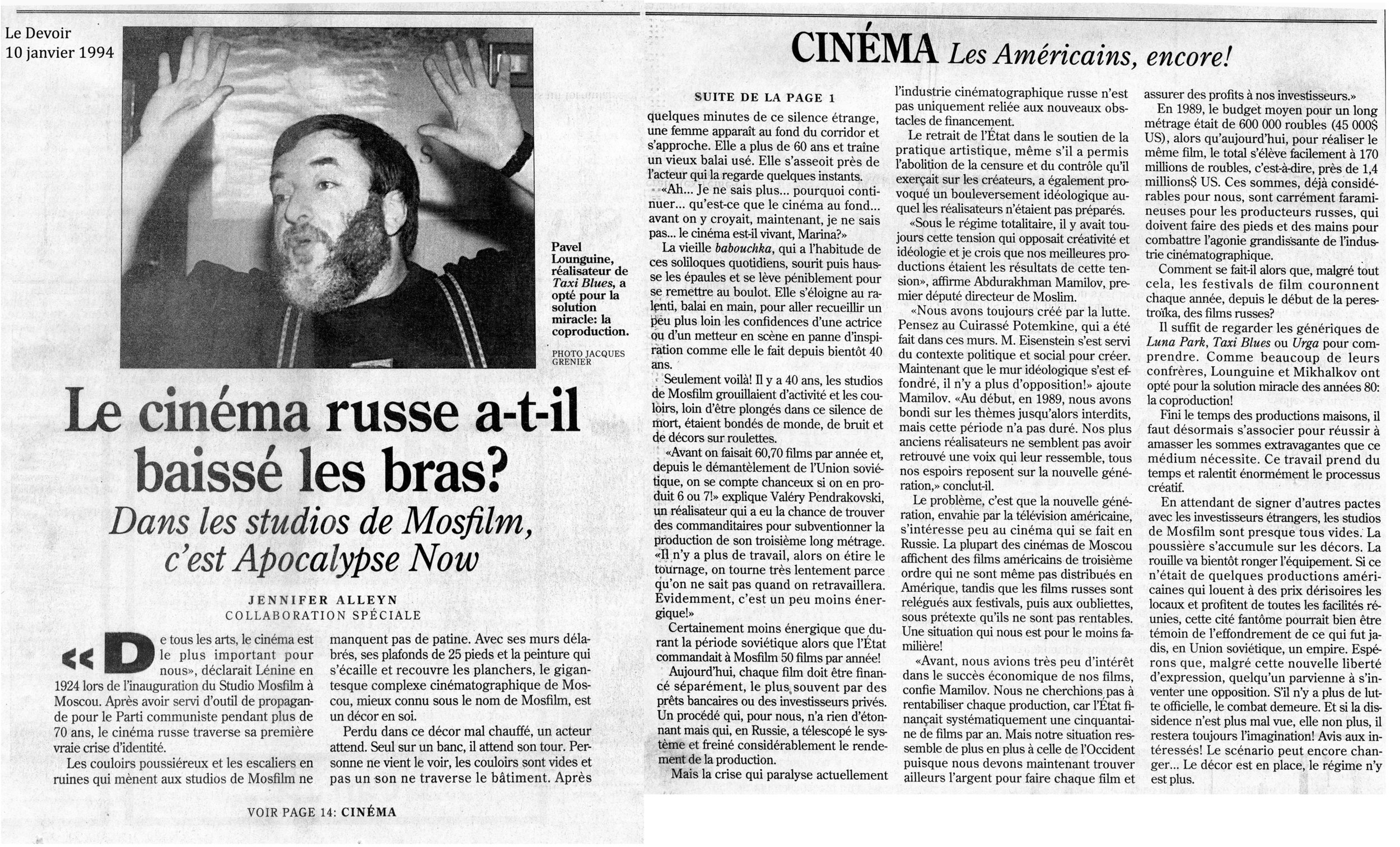 Le cinema russe atil baissé les bras.jpg