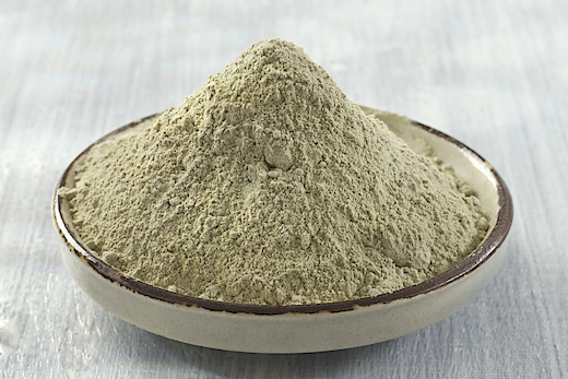 Bentonite Clay  Mild Natural Abrasive that gently scrubs and polishes teeth, Draws out heavy toxins, rich in minerals to nourish gums and teeth