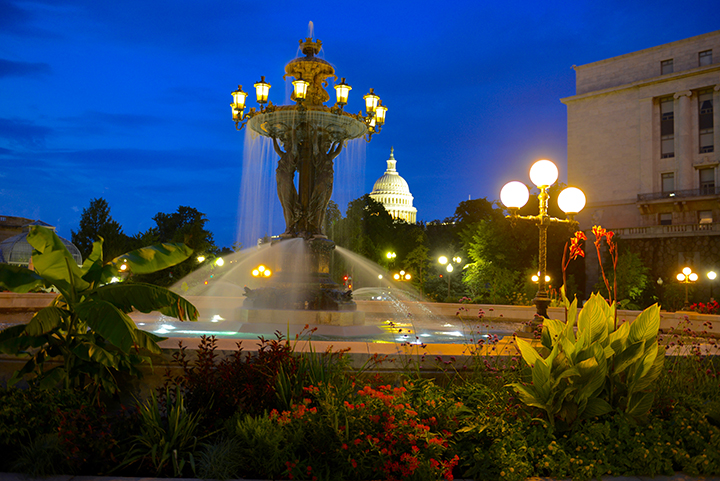 Bartholdi Fountain at night.jpg