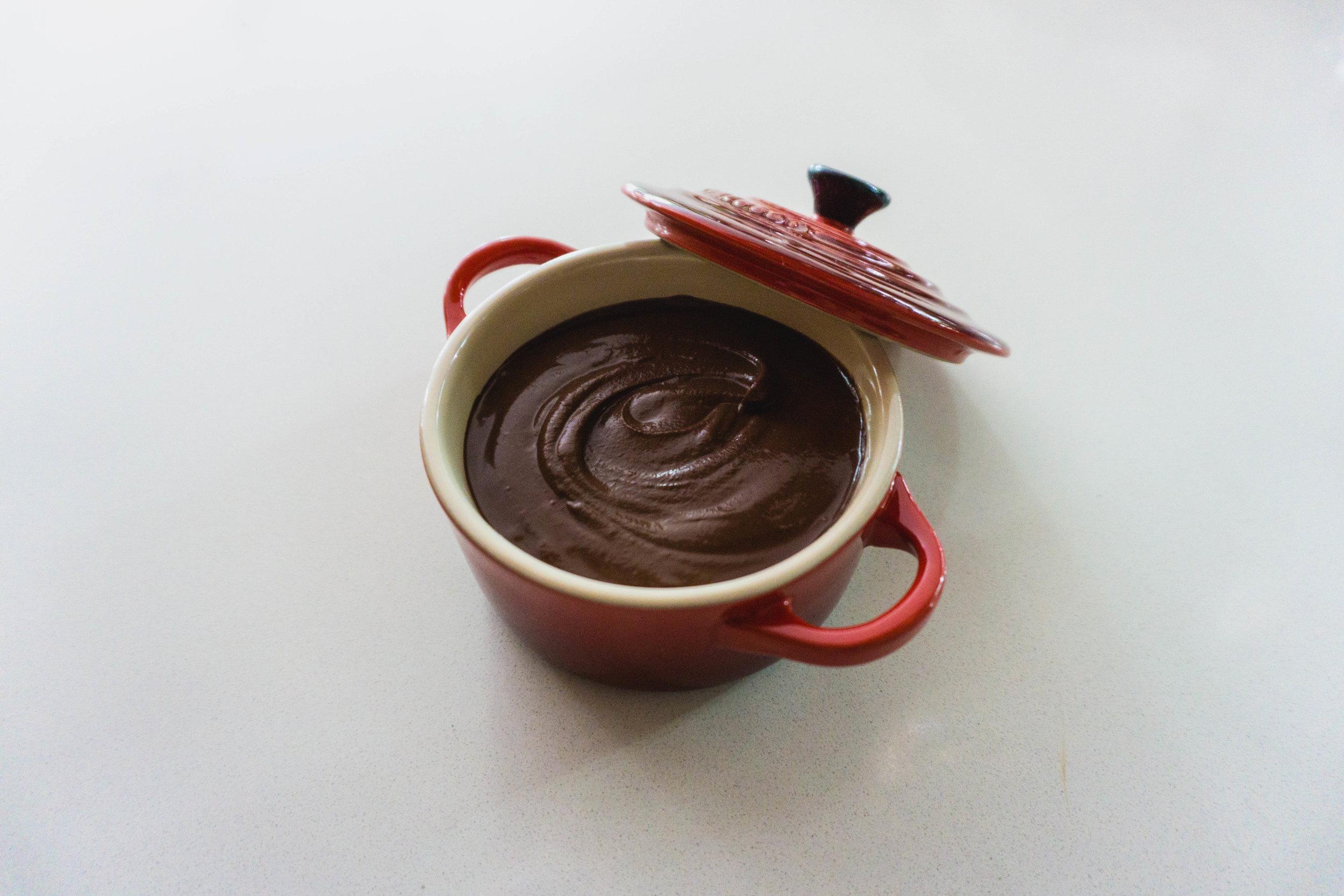 Chocolate Mousse in Le Creuset Pot :P