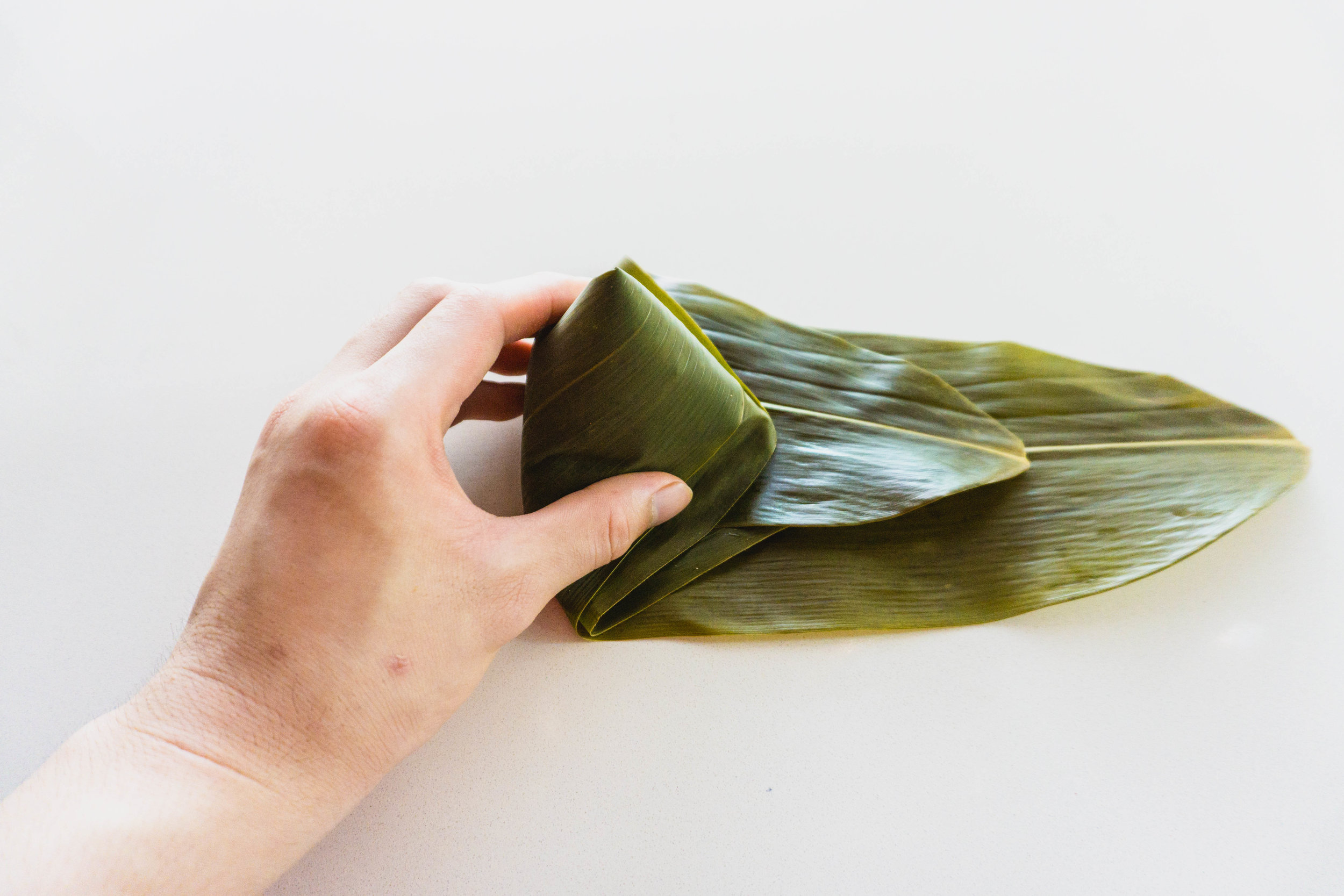 How to wrap a zongzi - part 7