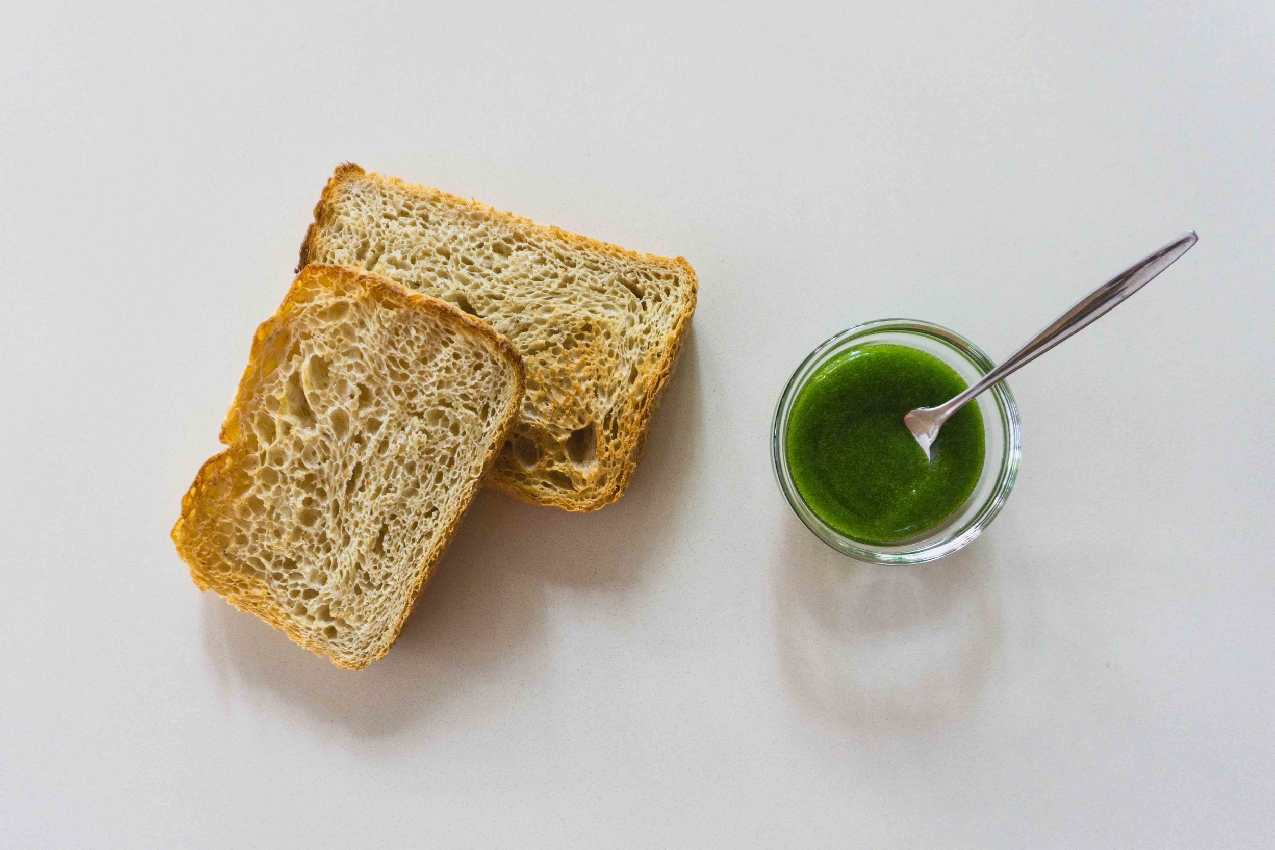 Pandan kaya feat. toast