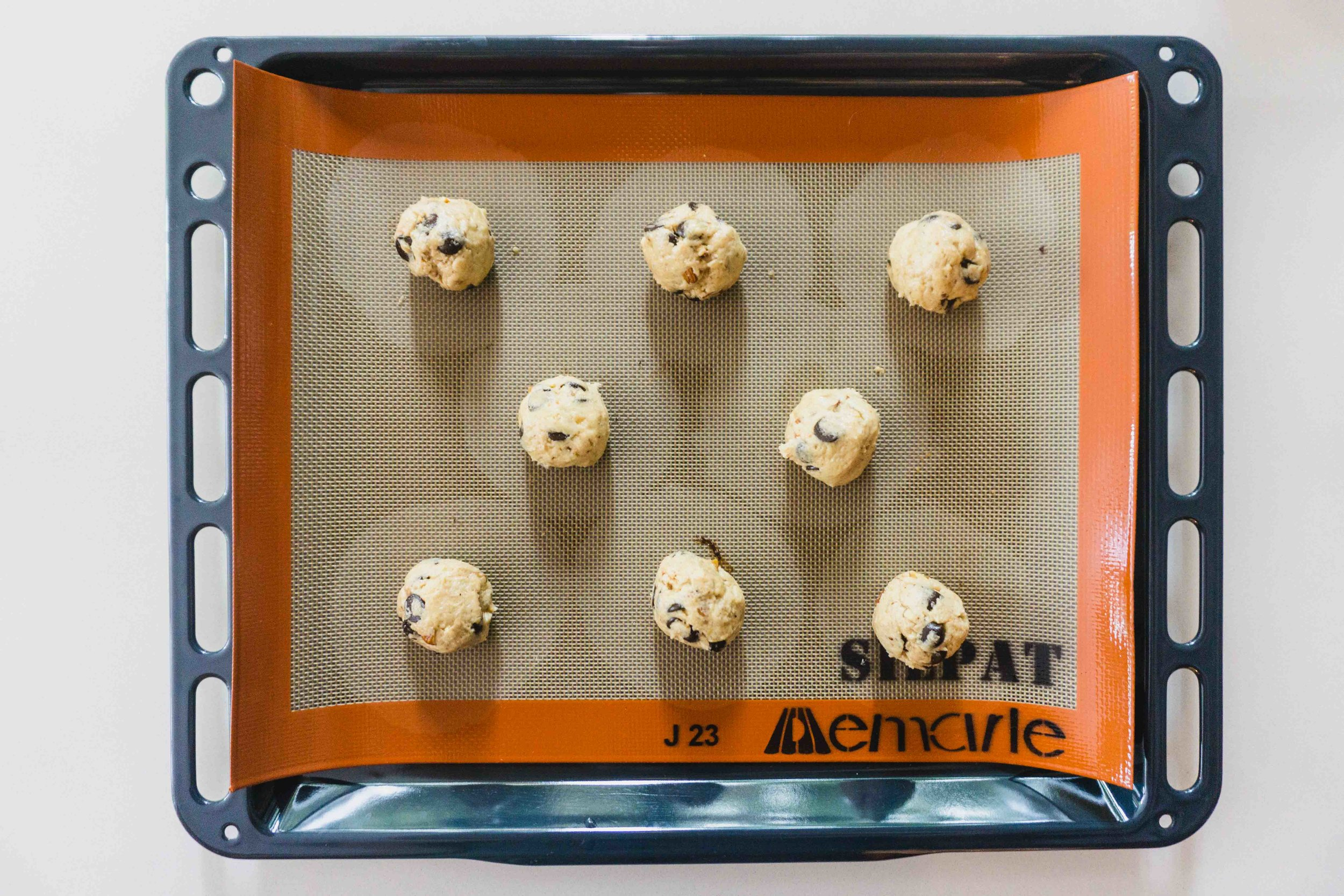 Cookies on a sheetpan