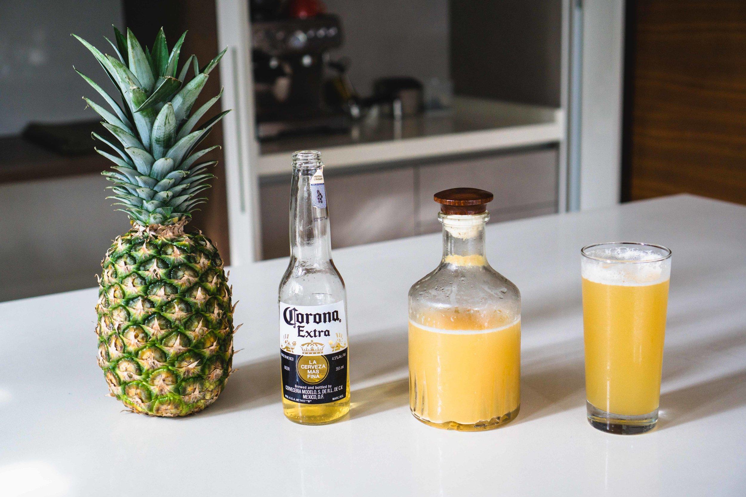 Pineapple Beer / Tepache