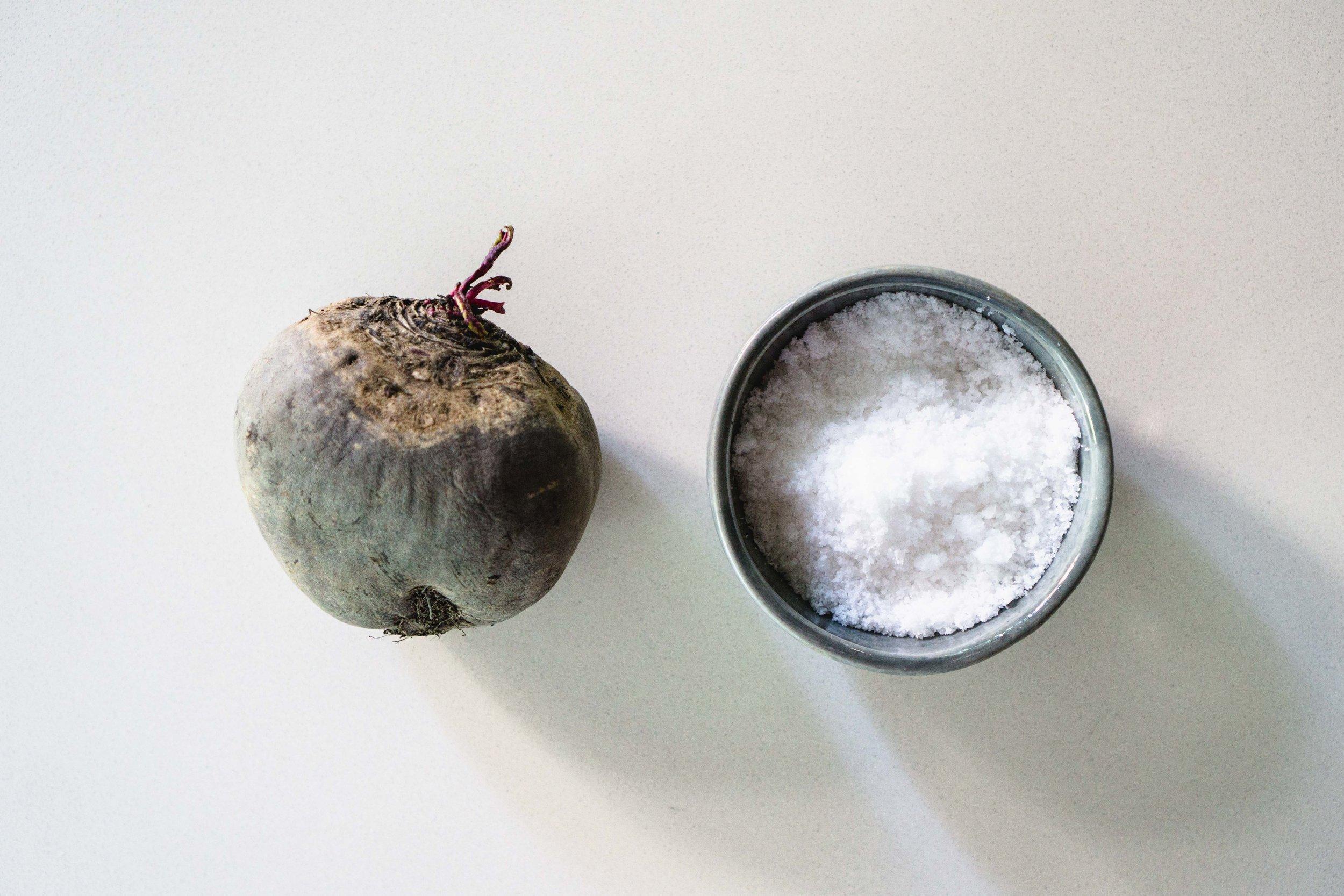 Beetroot + Salt = ?