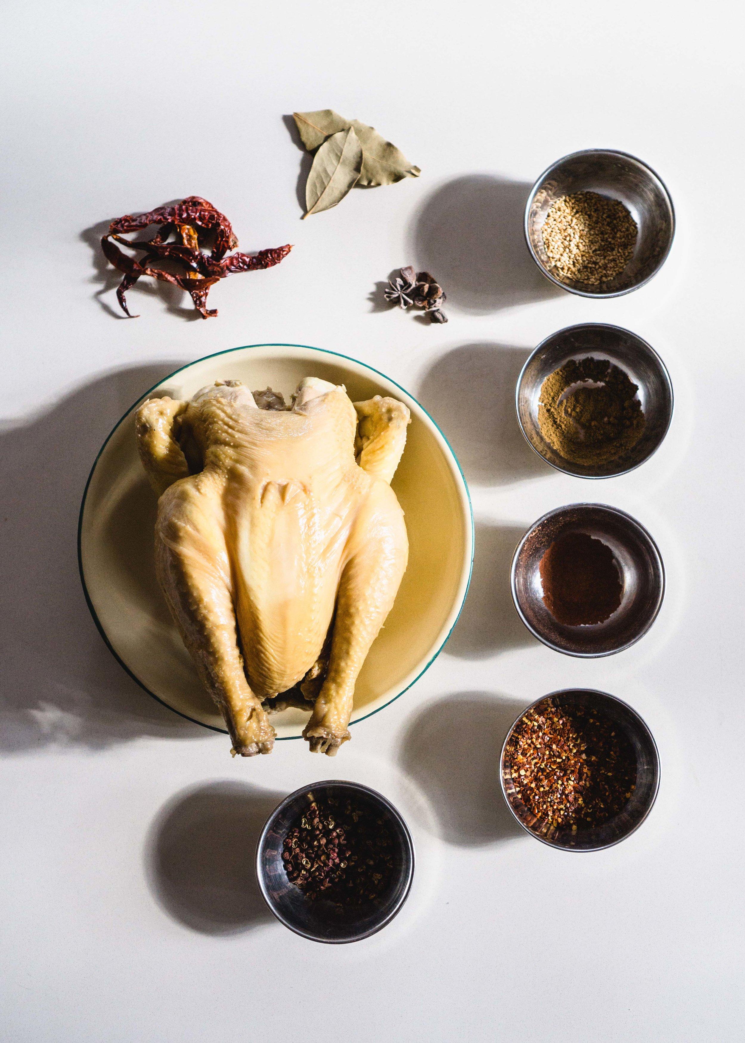 Saliva Chicken (口水鸡)