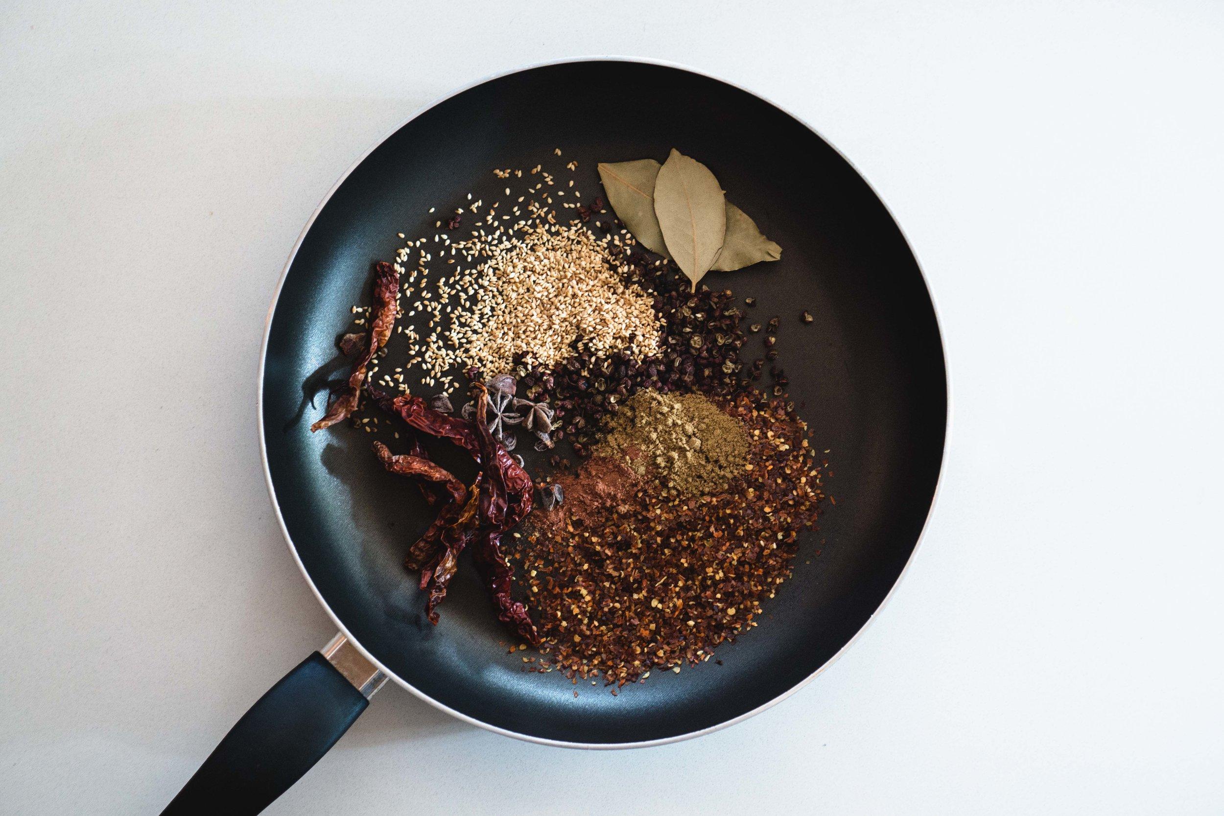 Saliva Chicken (口水鸡) Spices