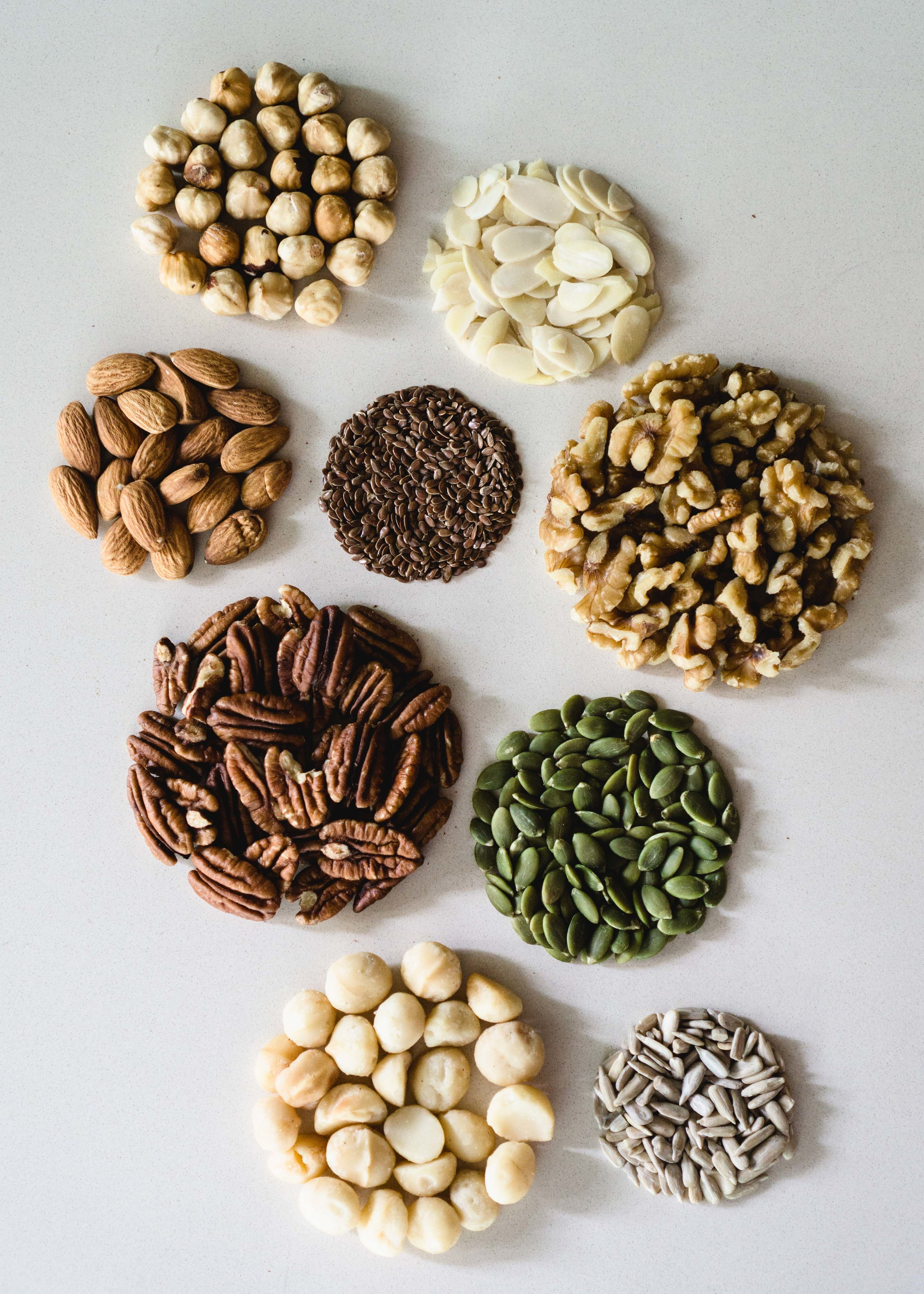 Nuts & Seeds for My Any-Nut Brittle