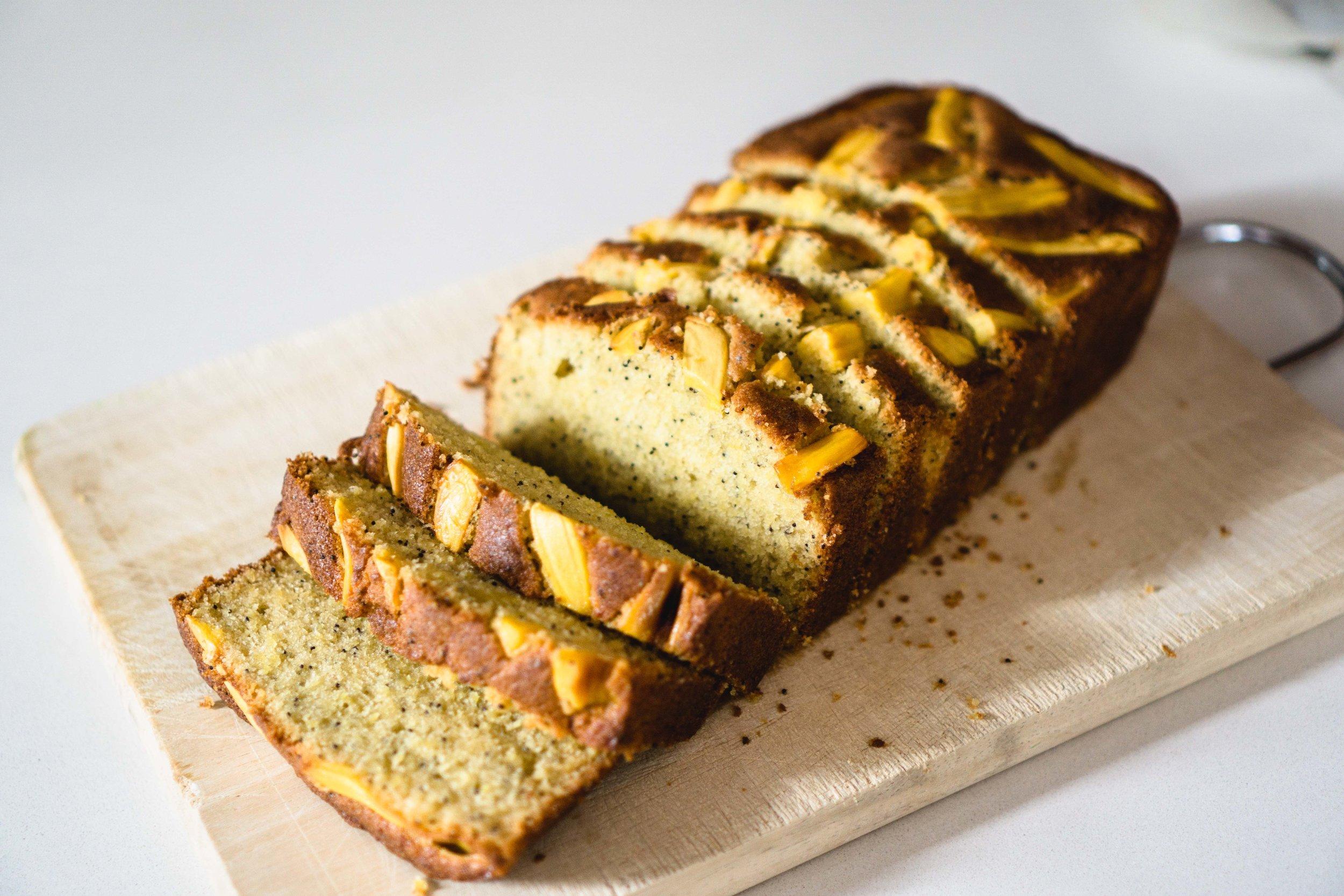 Jackfruit Loaf Cake