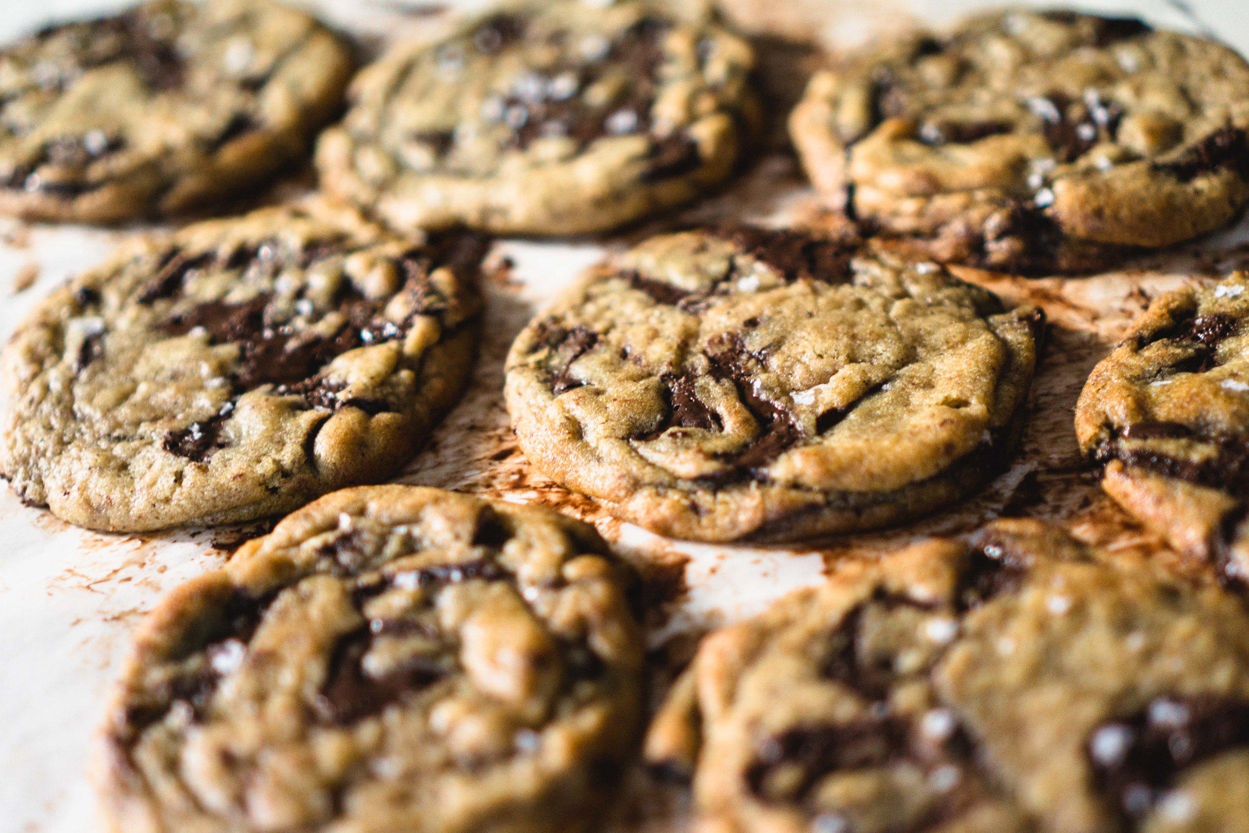 Black Garlic Chocolate Chip Cookies