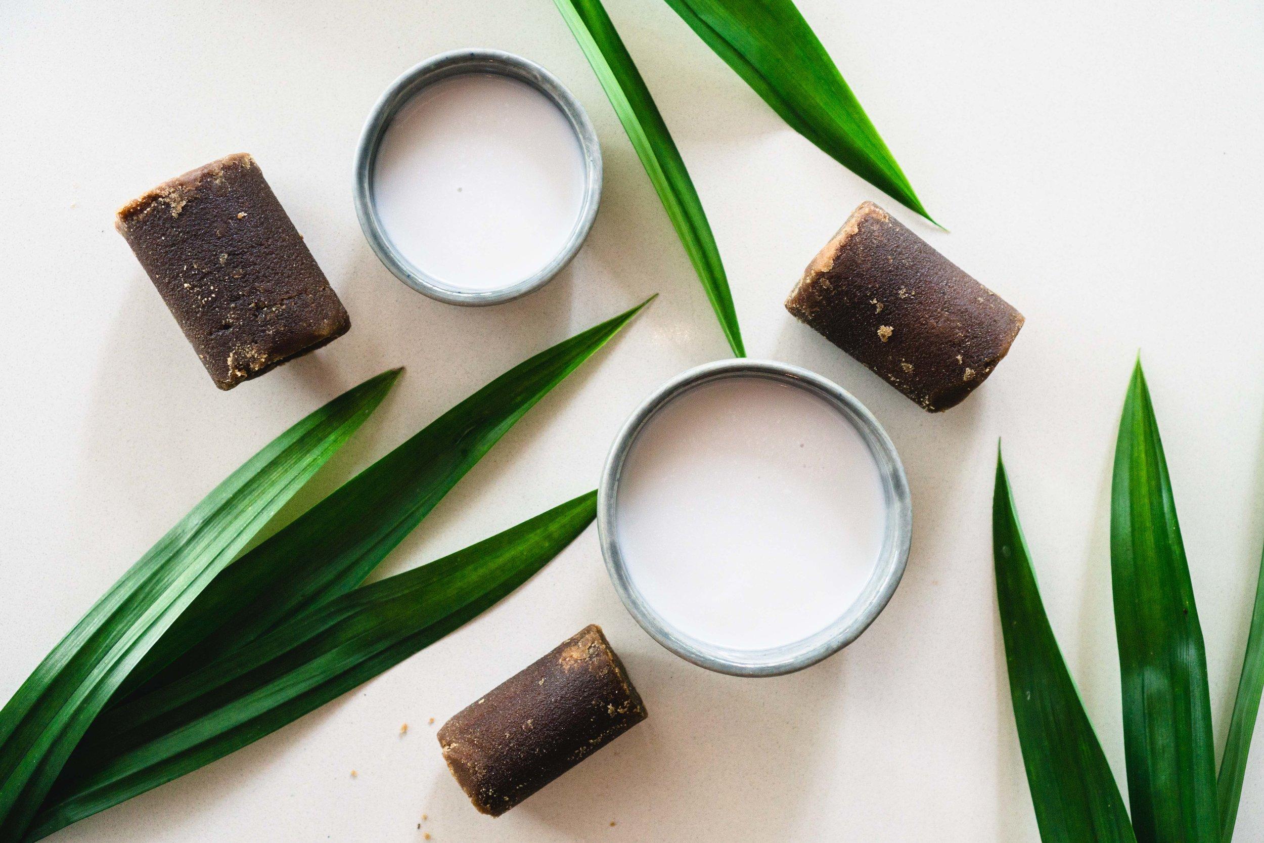Pandan, Gula Melaka, and Coconut Milk
