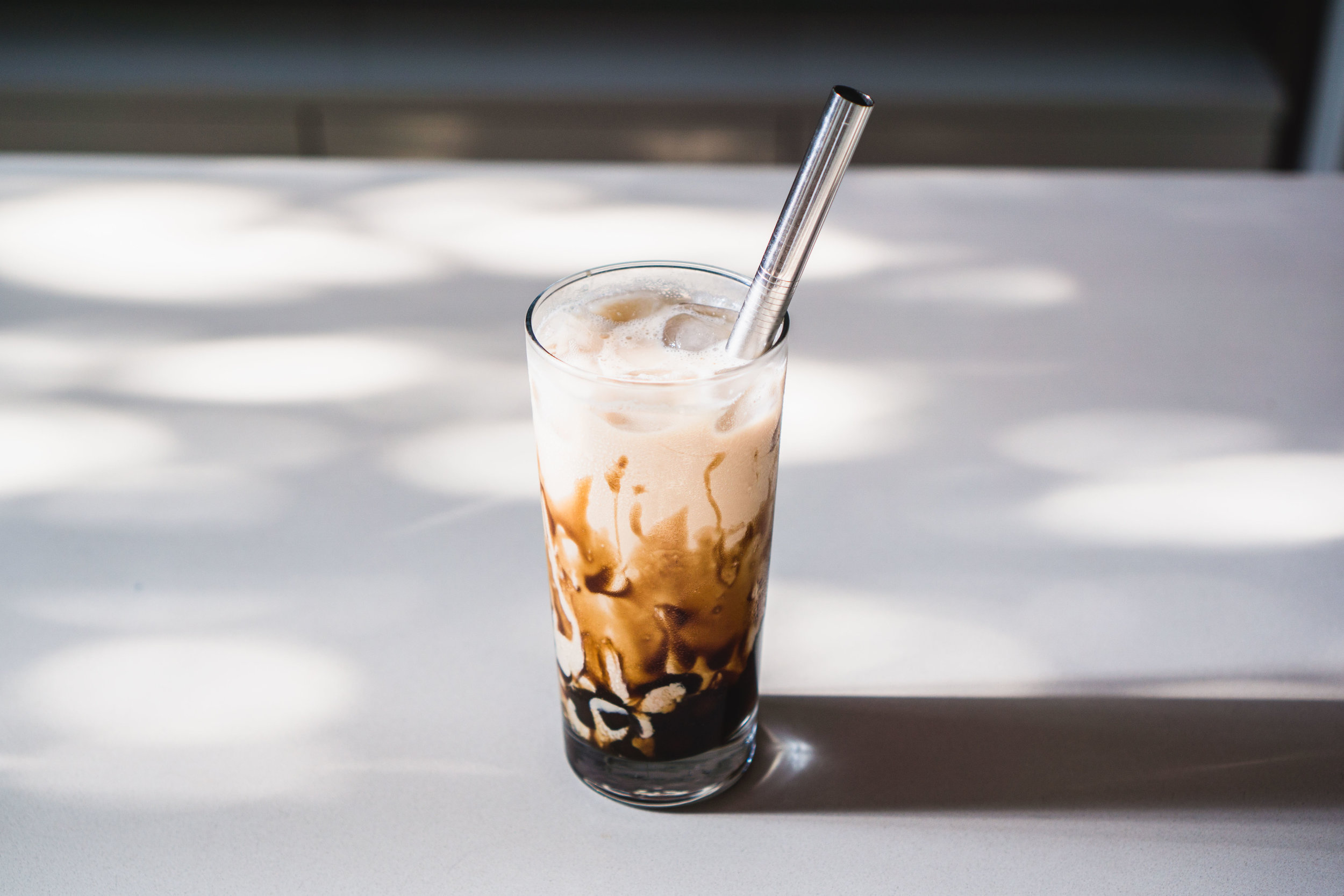 Brown Sugar Bubble Tea 珍珠奶茶 Jun Tonic