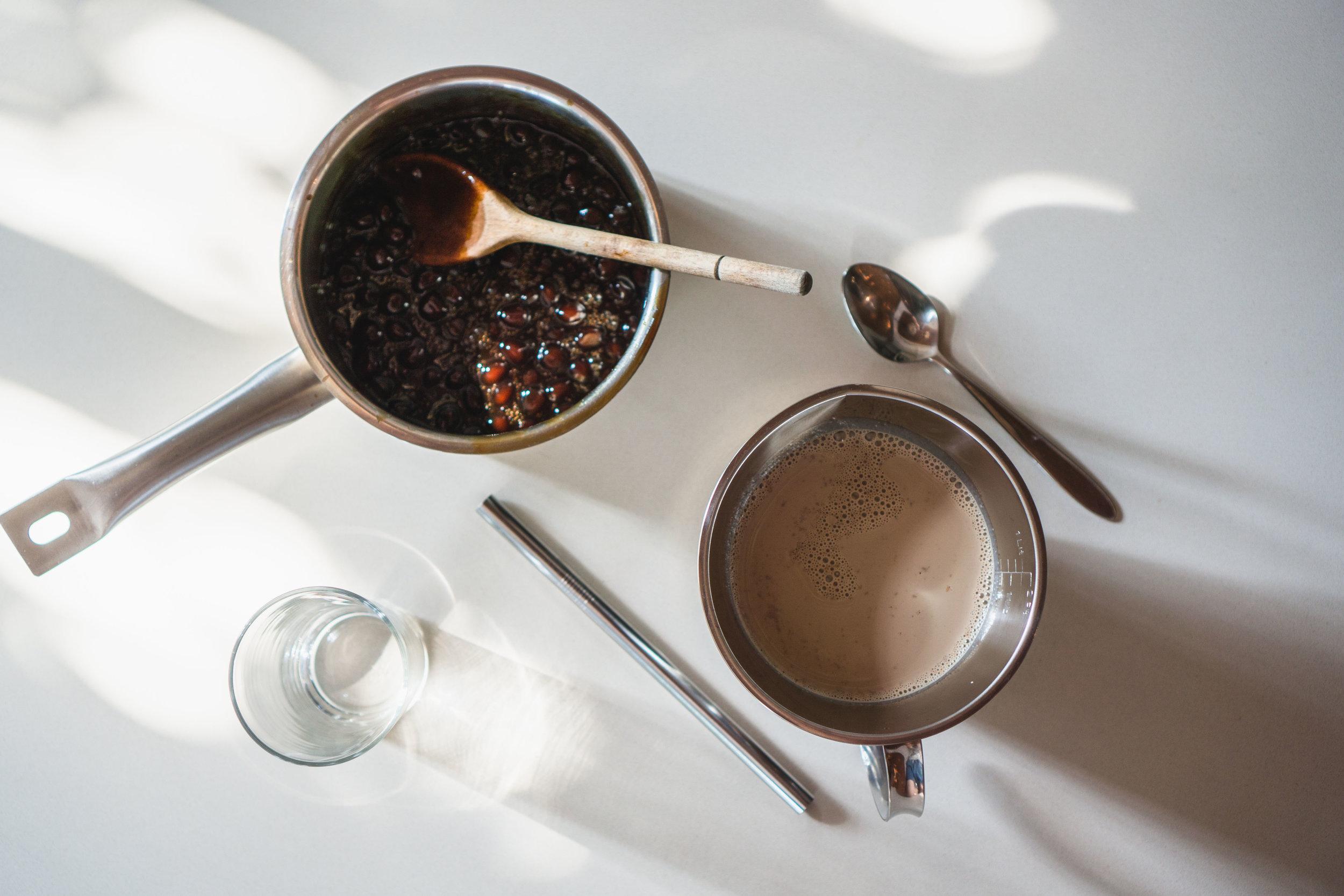 Brown Sugar Bubble Tea (珍珠奶茶) — Jun & Tonic