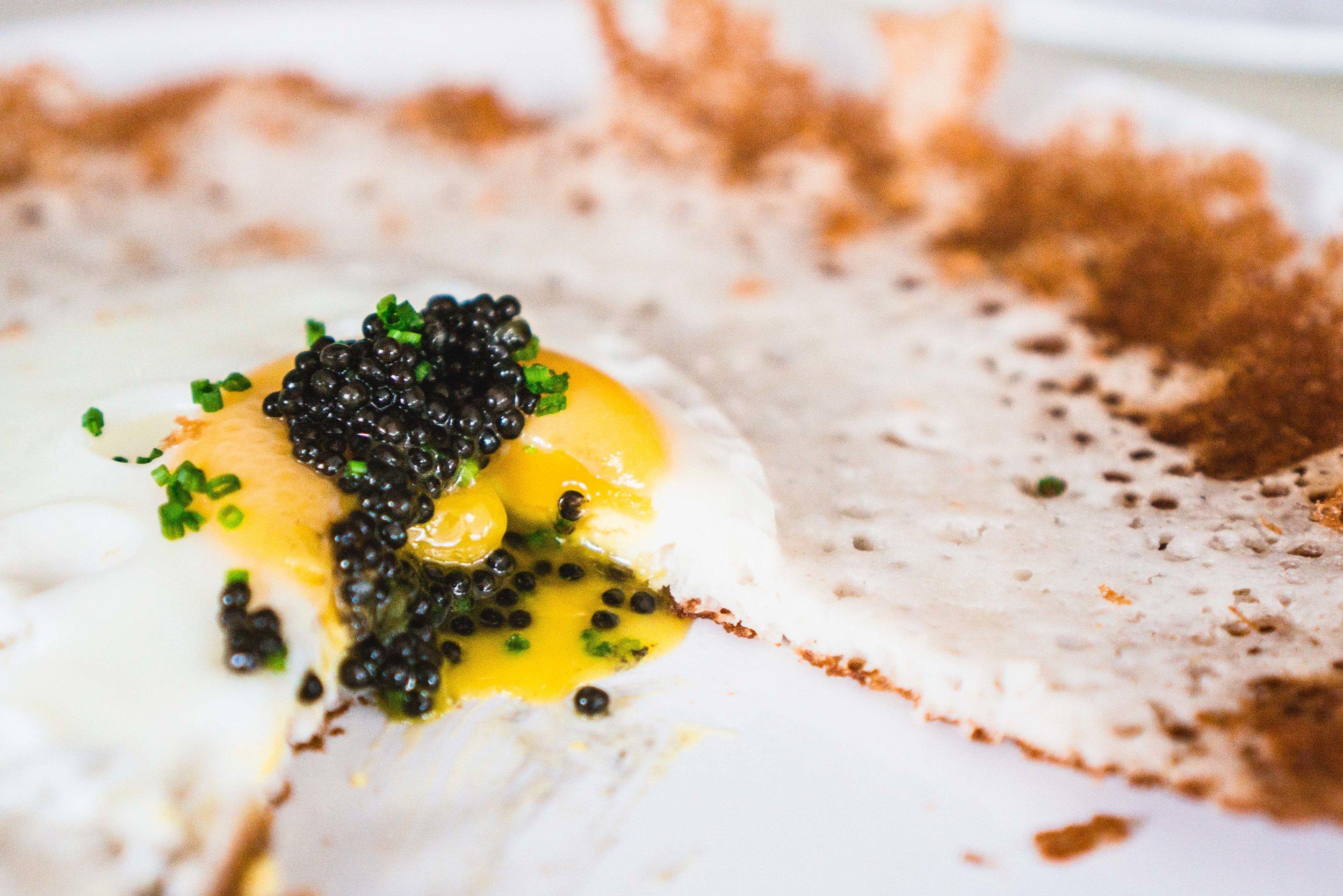Caviar Appam