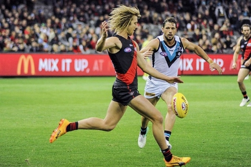 Dyson Heppell Kicking