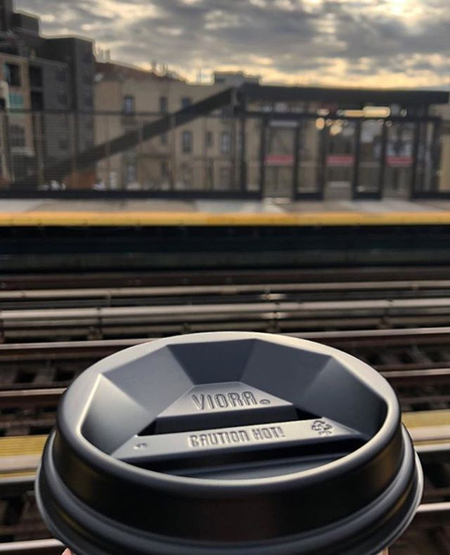 Friday's are already great (hello weekend!) but they're even better when you start them off with a cup of coffee and a #VioraLid (rp @astoriacoffeeny)